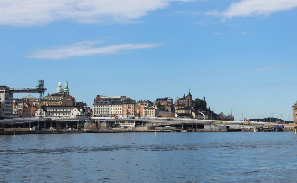Stockholm - Slusen with Scandic Hotel 01 July 22