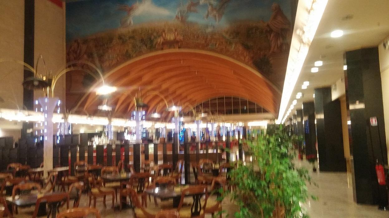 Lobby at Marriott Park Rome