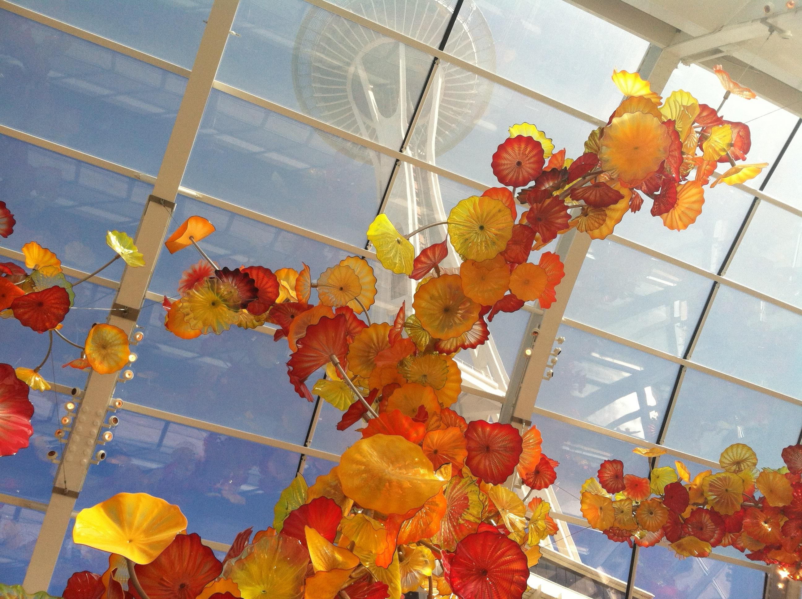 Chihuly Glass Garden and Space Needle