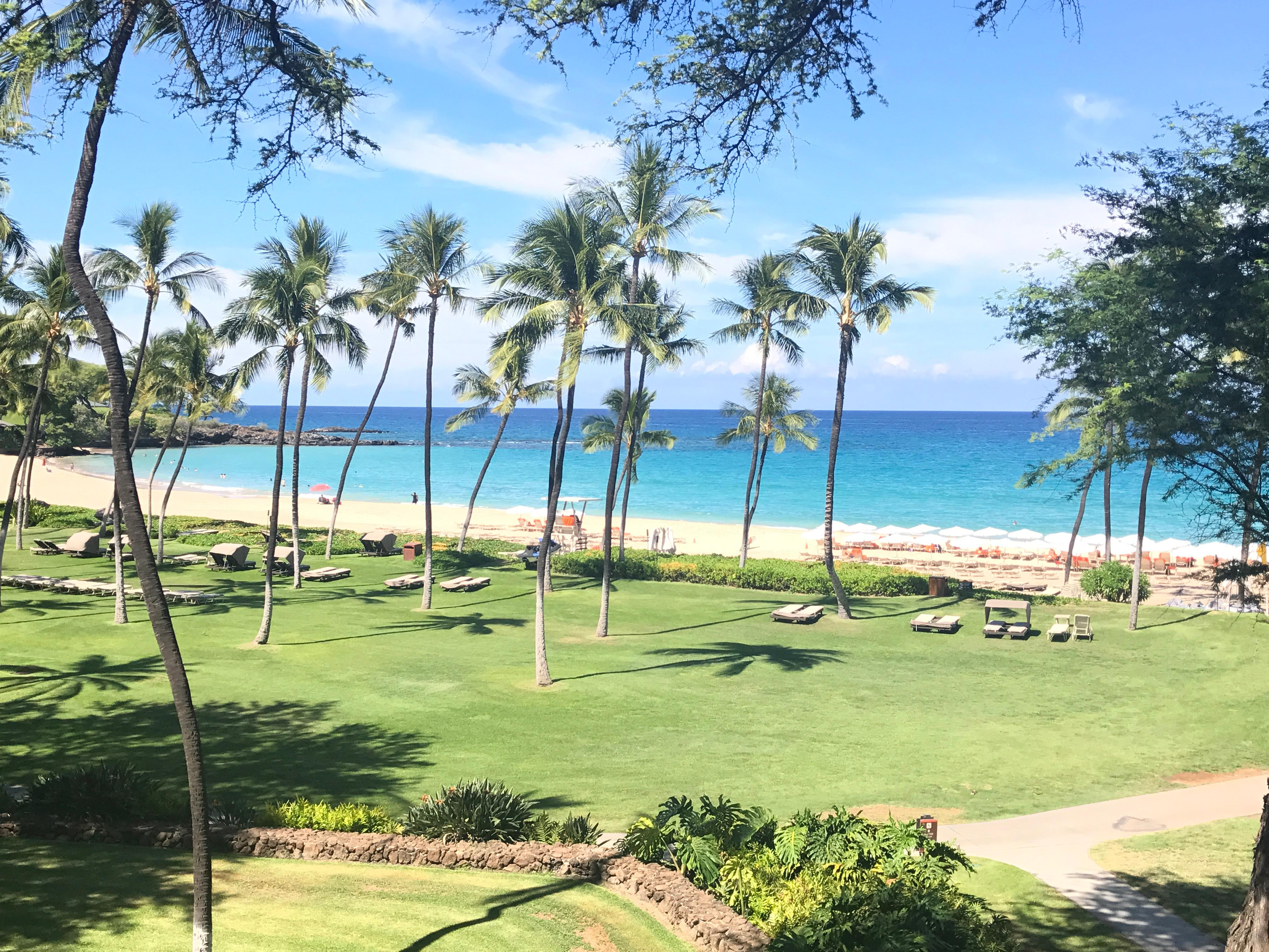 View from lanai, 3rd floor Beachfront wing
