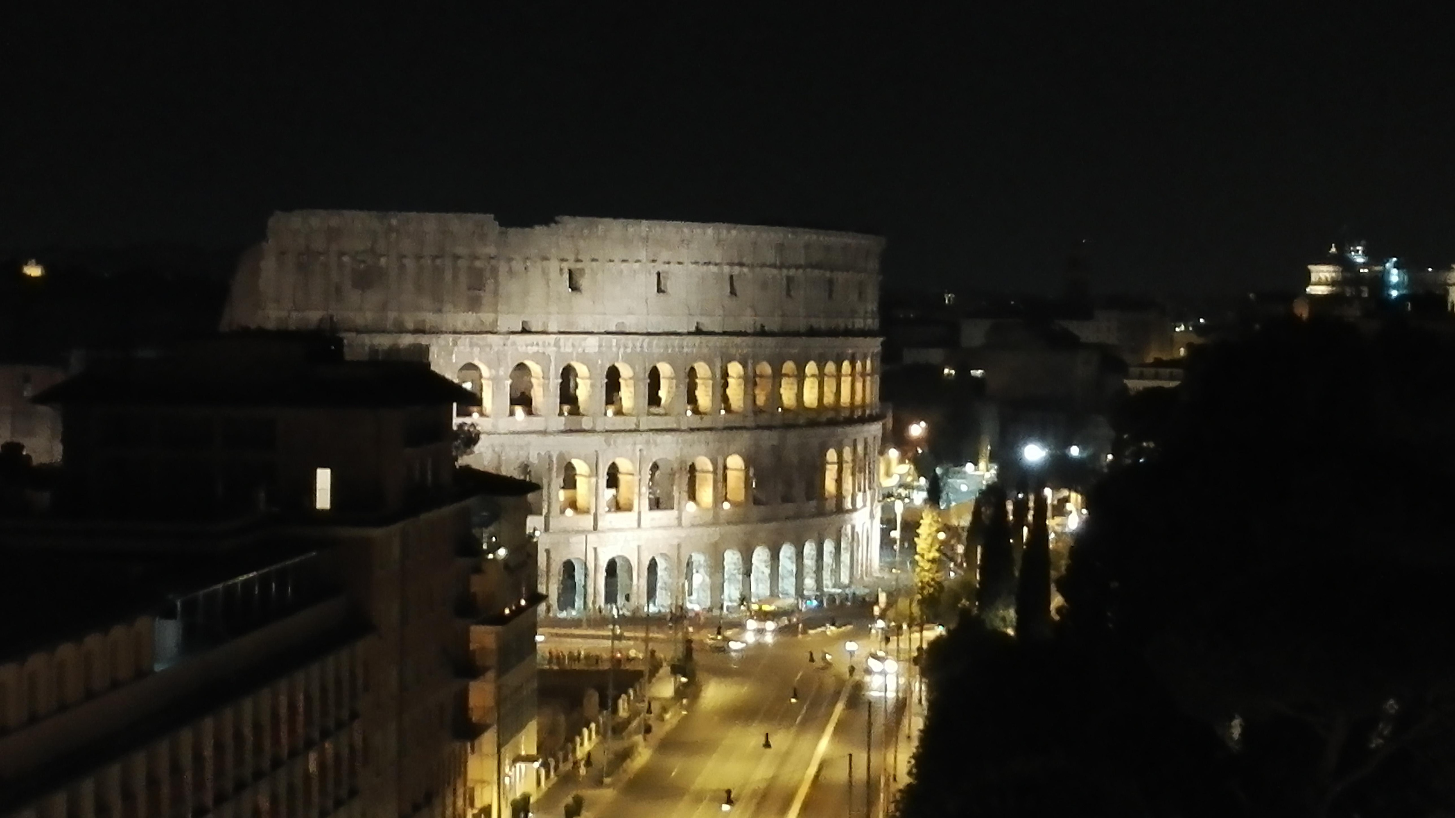Colosseum, photo taken from the roof terrace