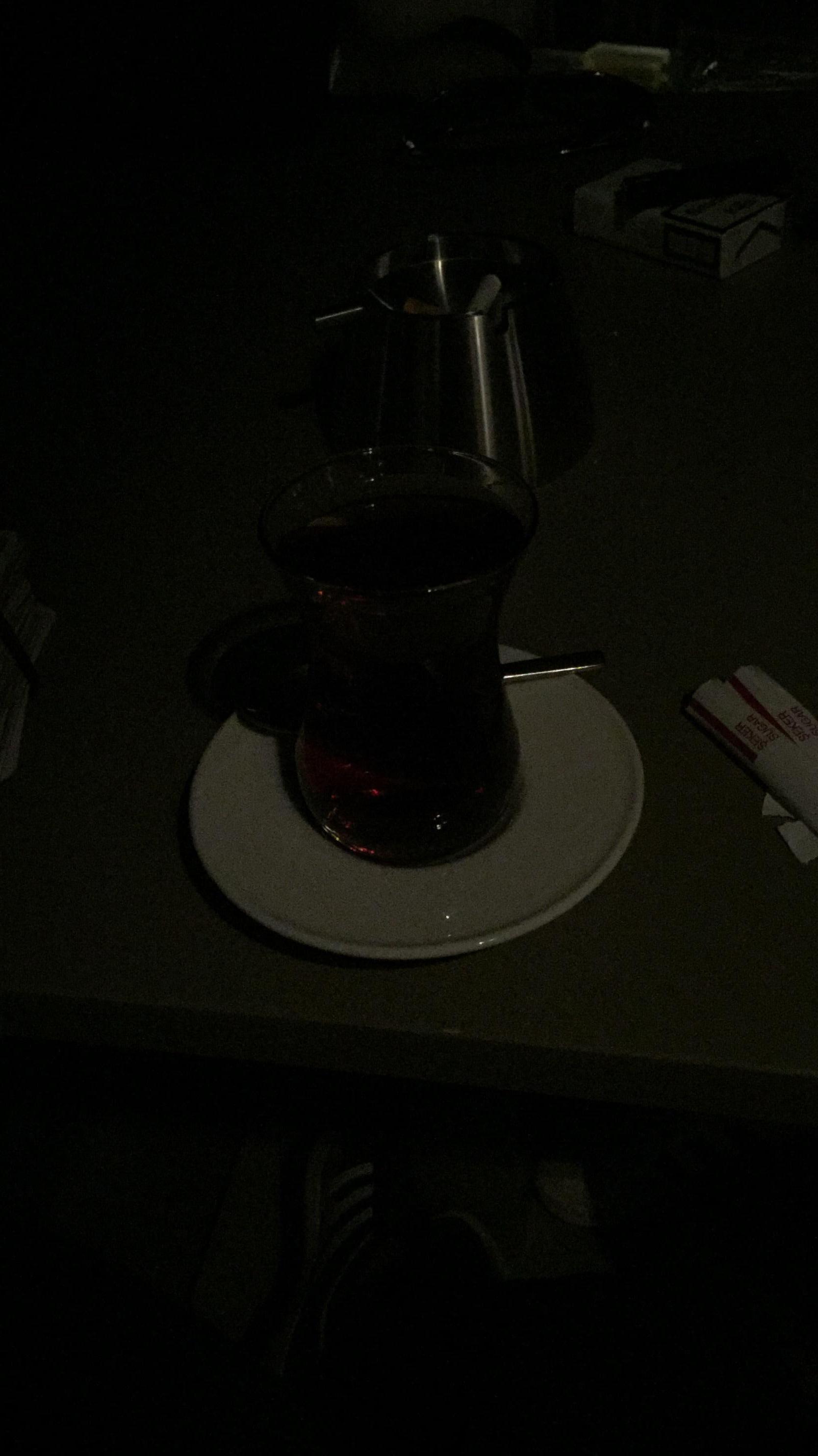 Uns immer schön Tee trinken 👍