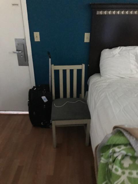 pillowcase upon arrival