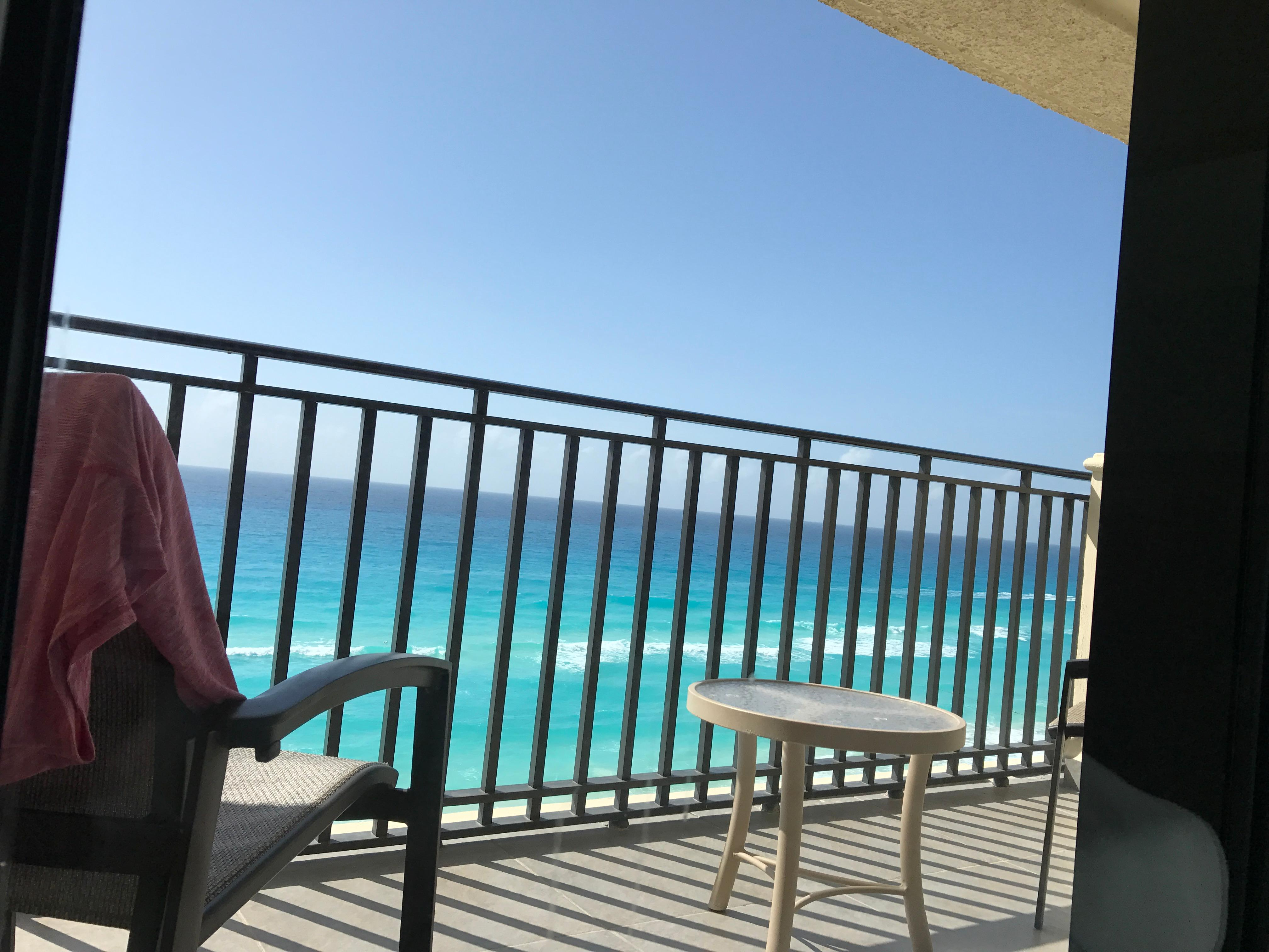 Our balcony (front ocean view)