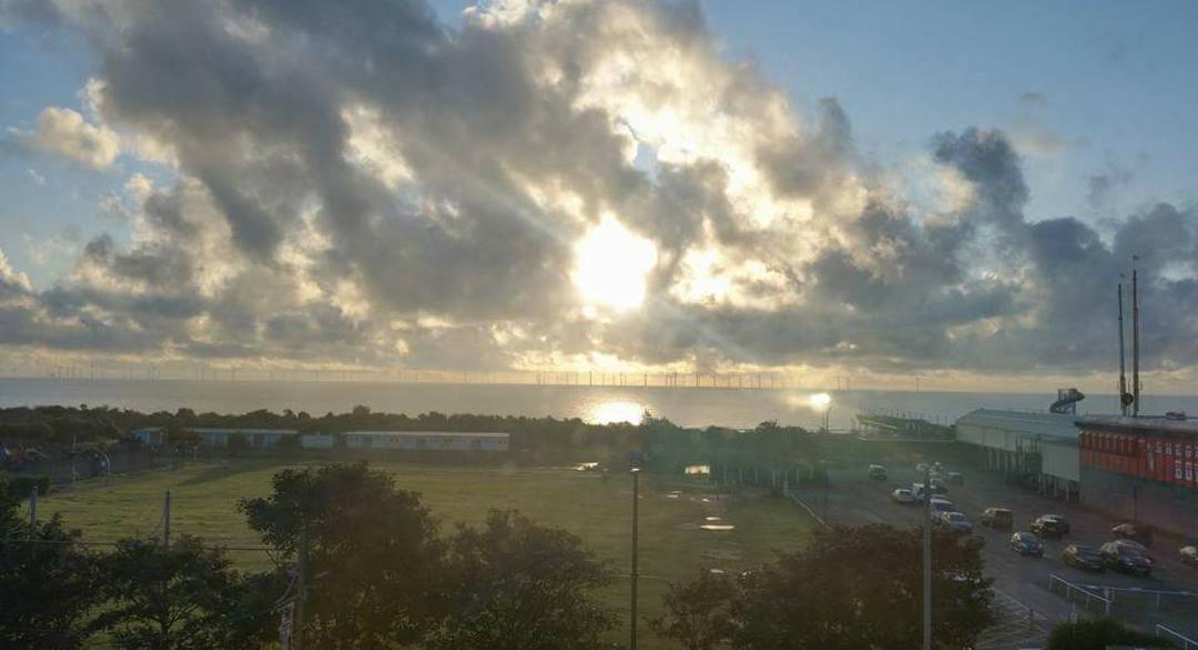 Morning sunrise Skegness