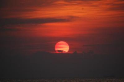 Pirate Bay sunset
