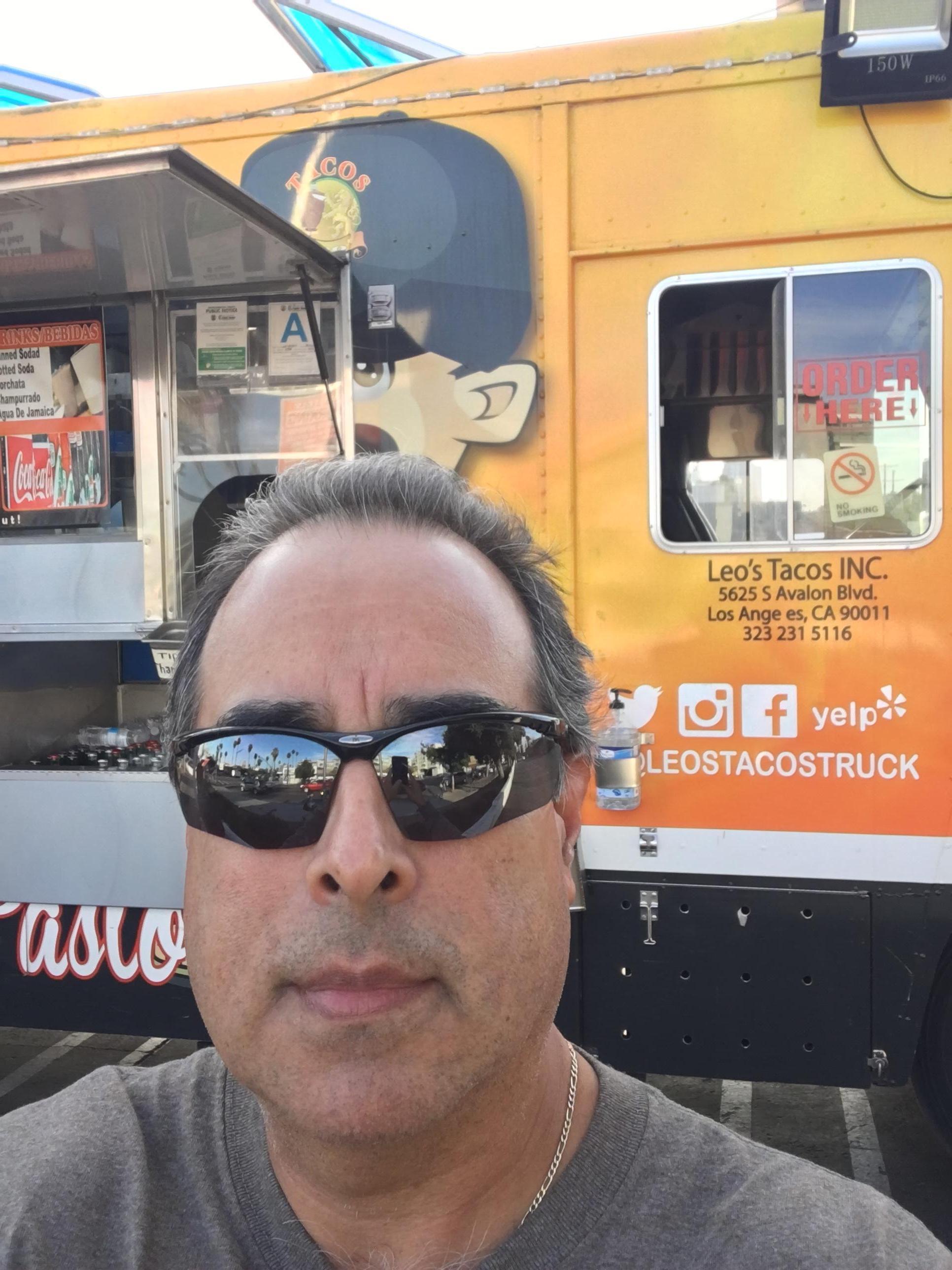 Me at taco truck