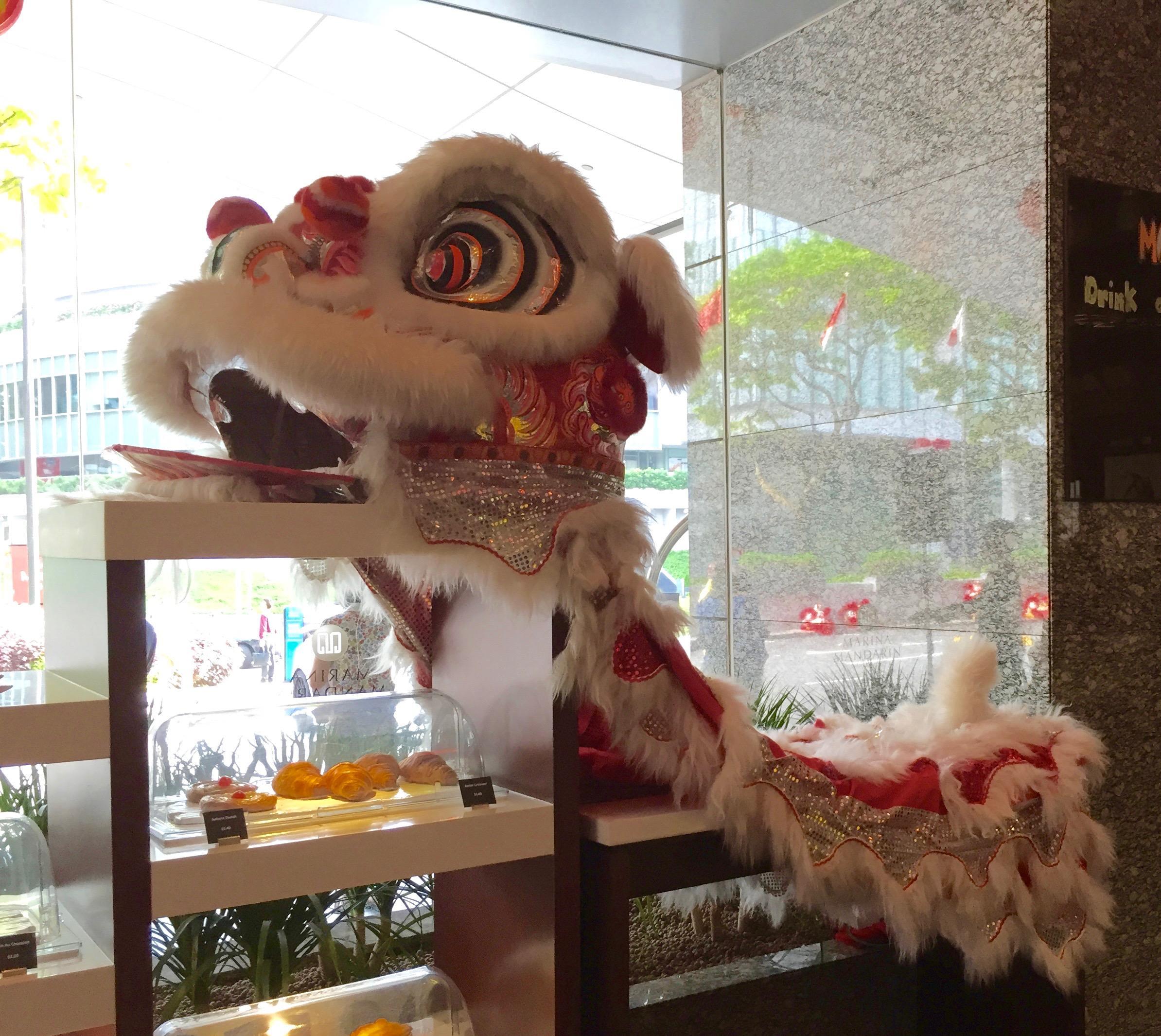 4th Floor lobby & dining