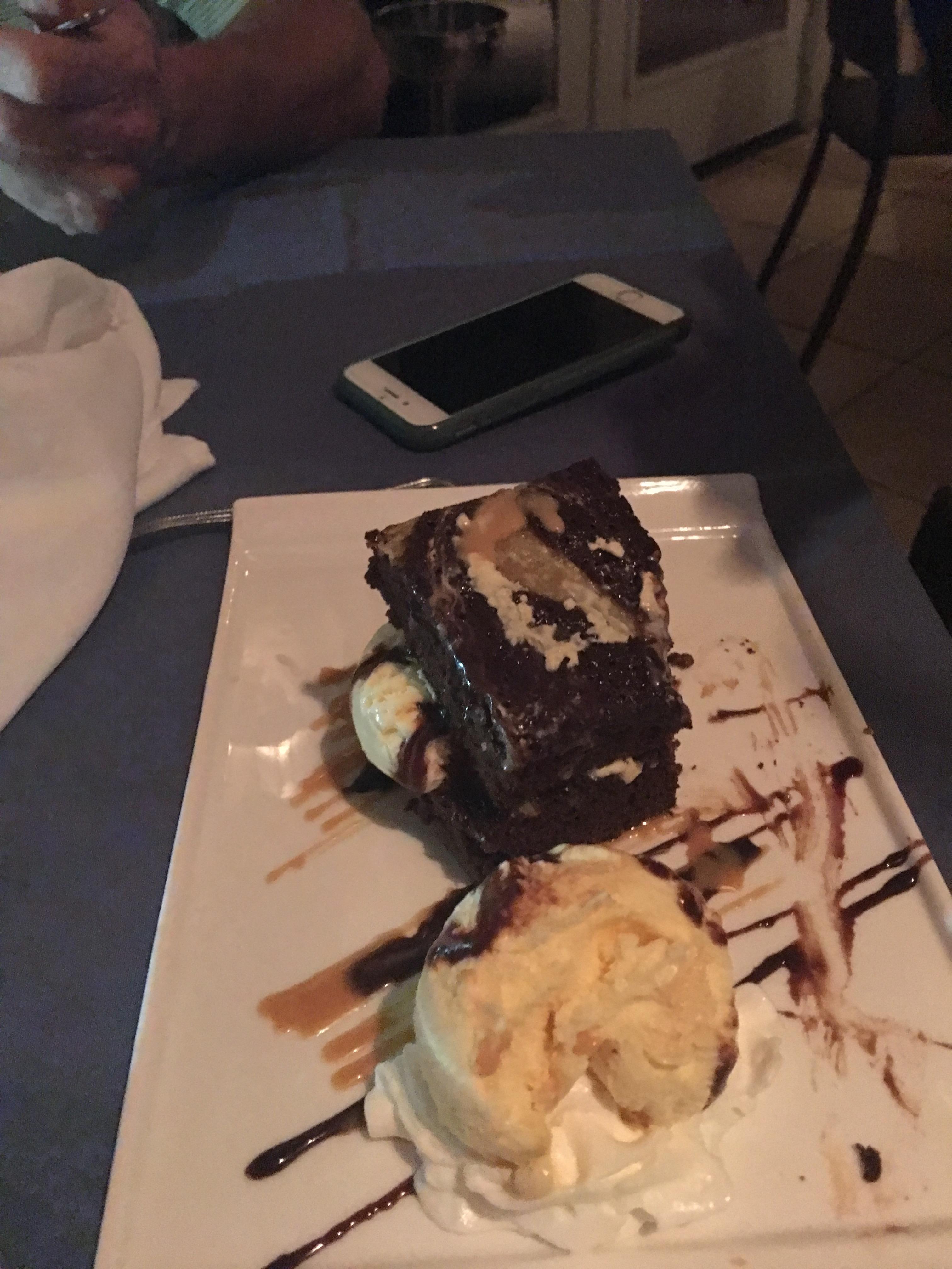 Dessert at Opus