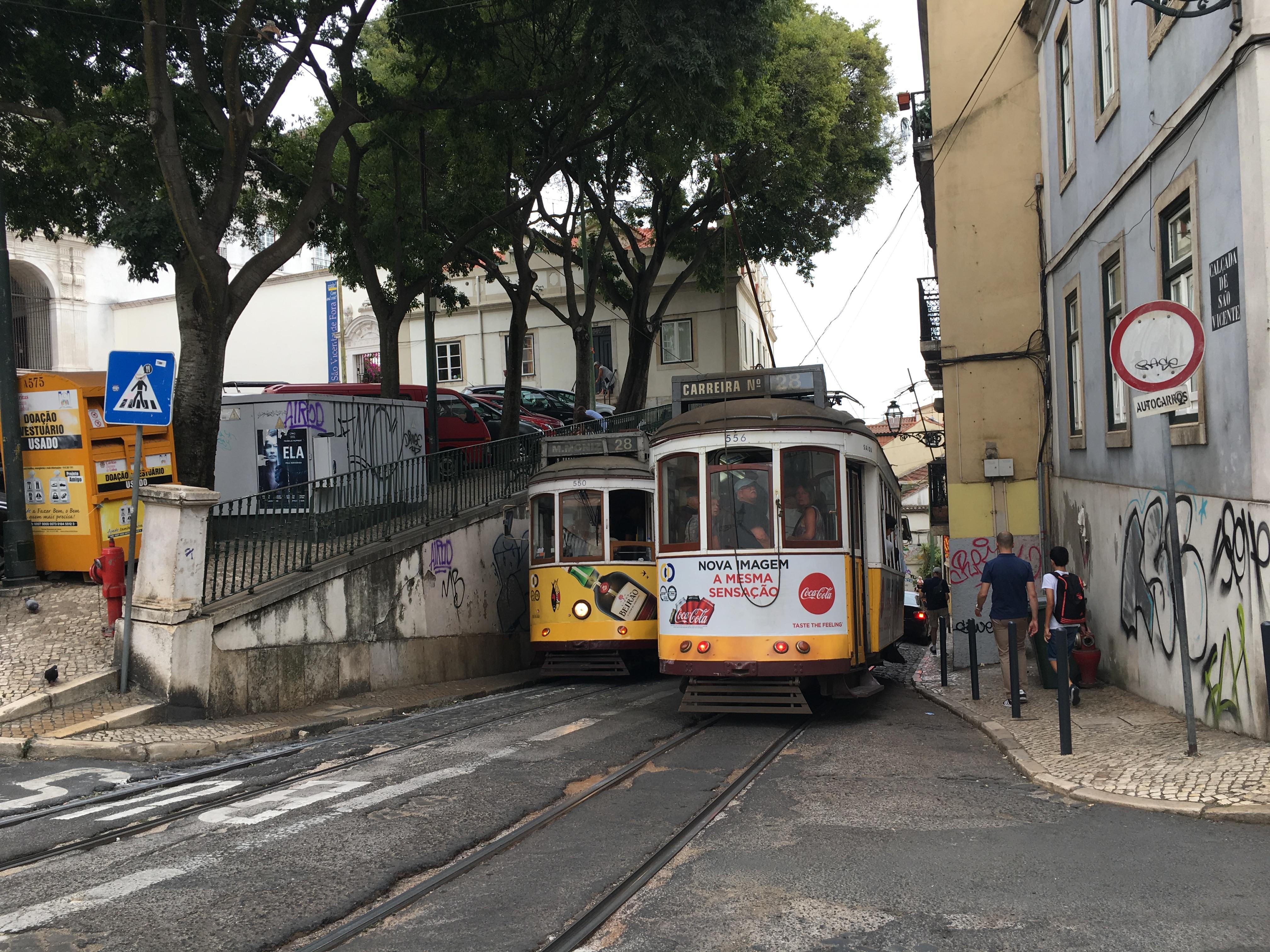 Un croisement de Tramway