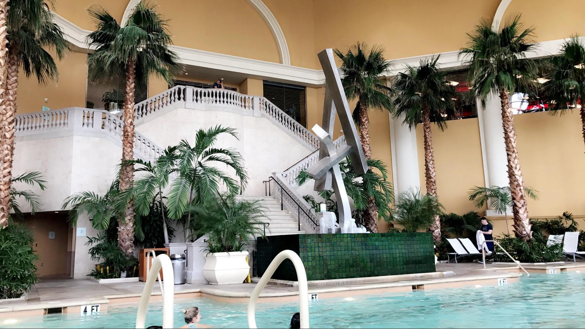 The garde pool