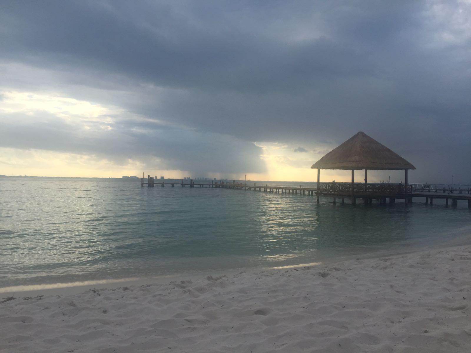 Ausblick am Strand