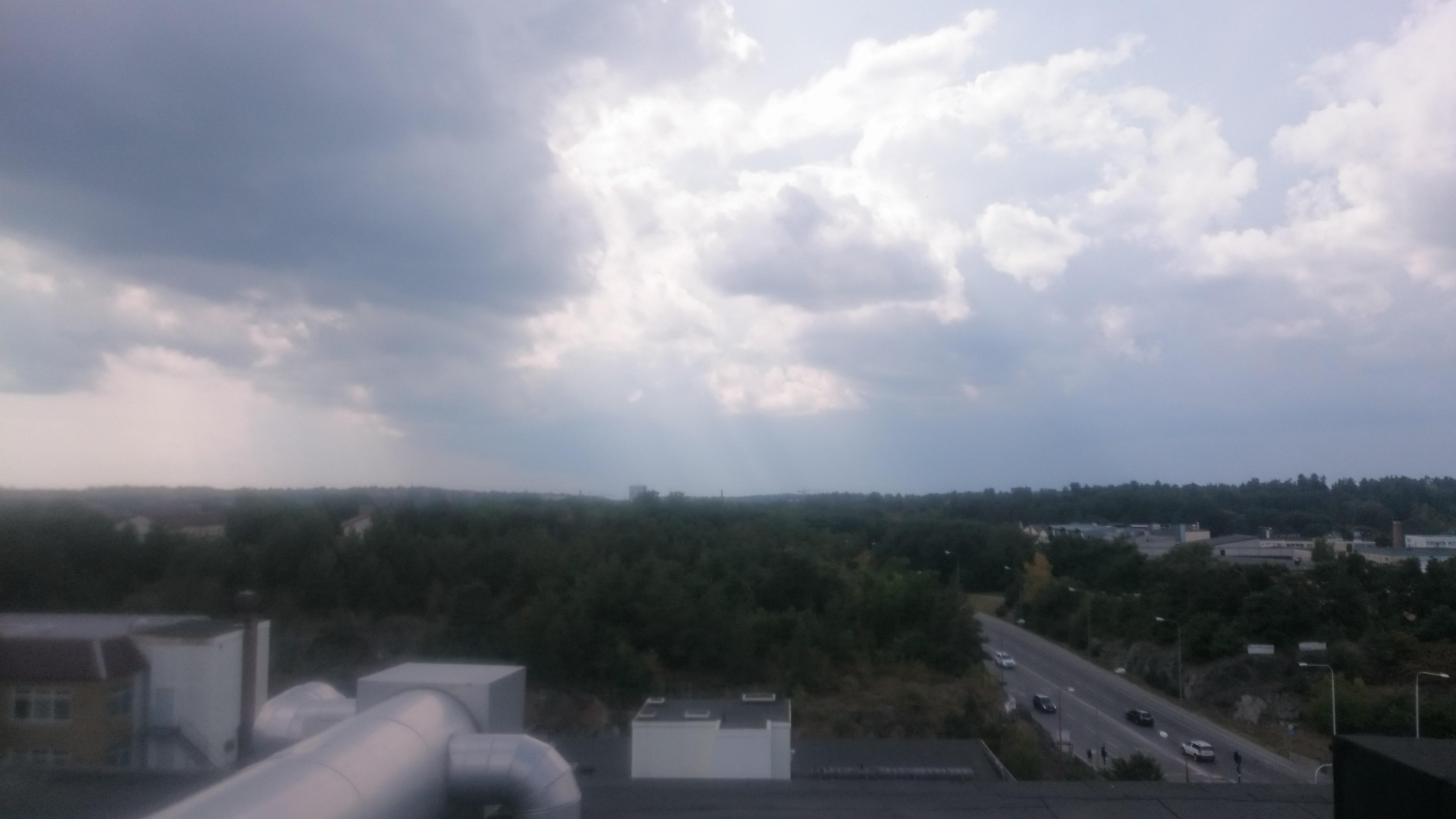 Näkymät katolta