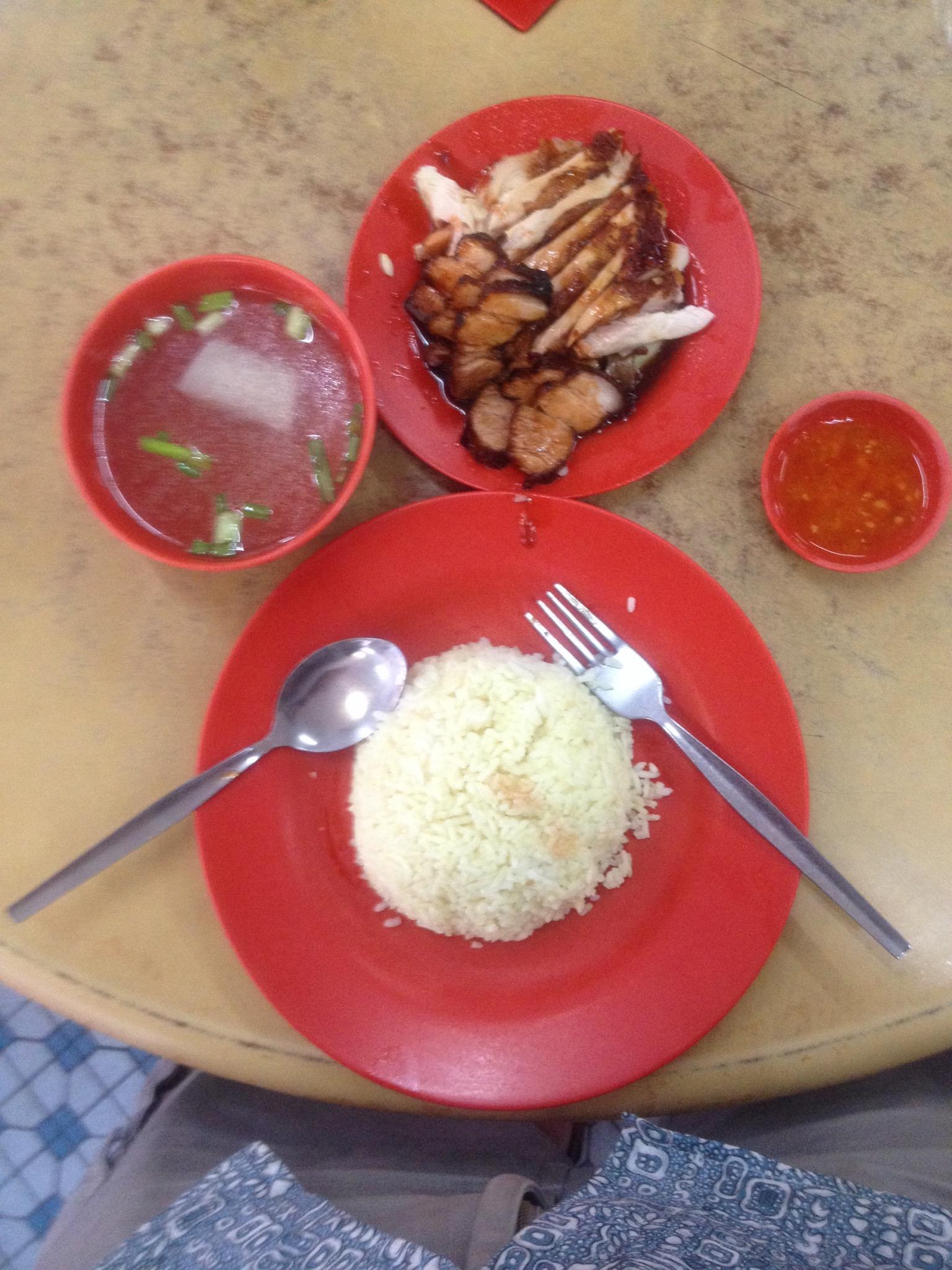 Best chicken rice across the road