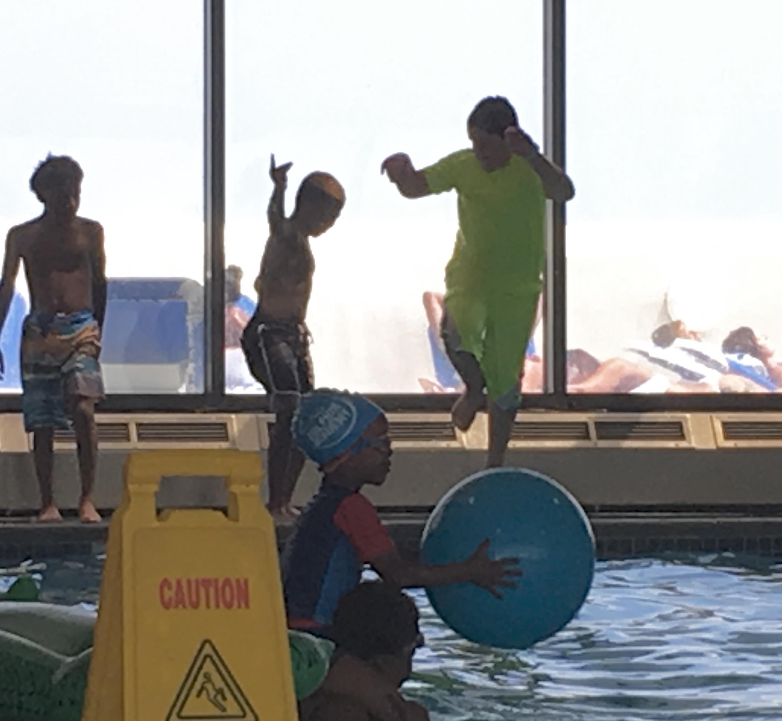 Pool- boys loved it