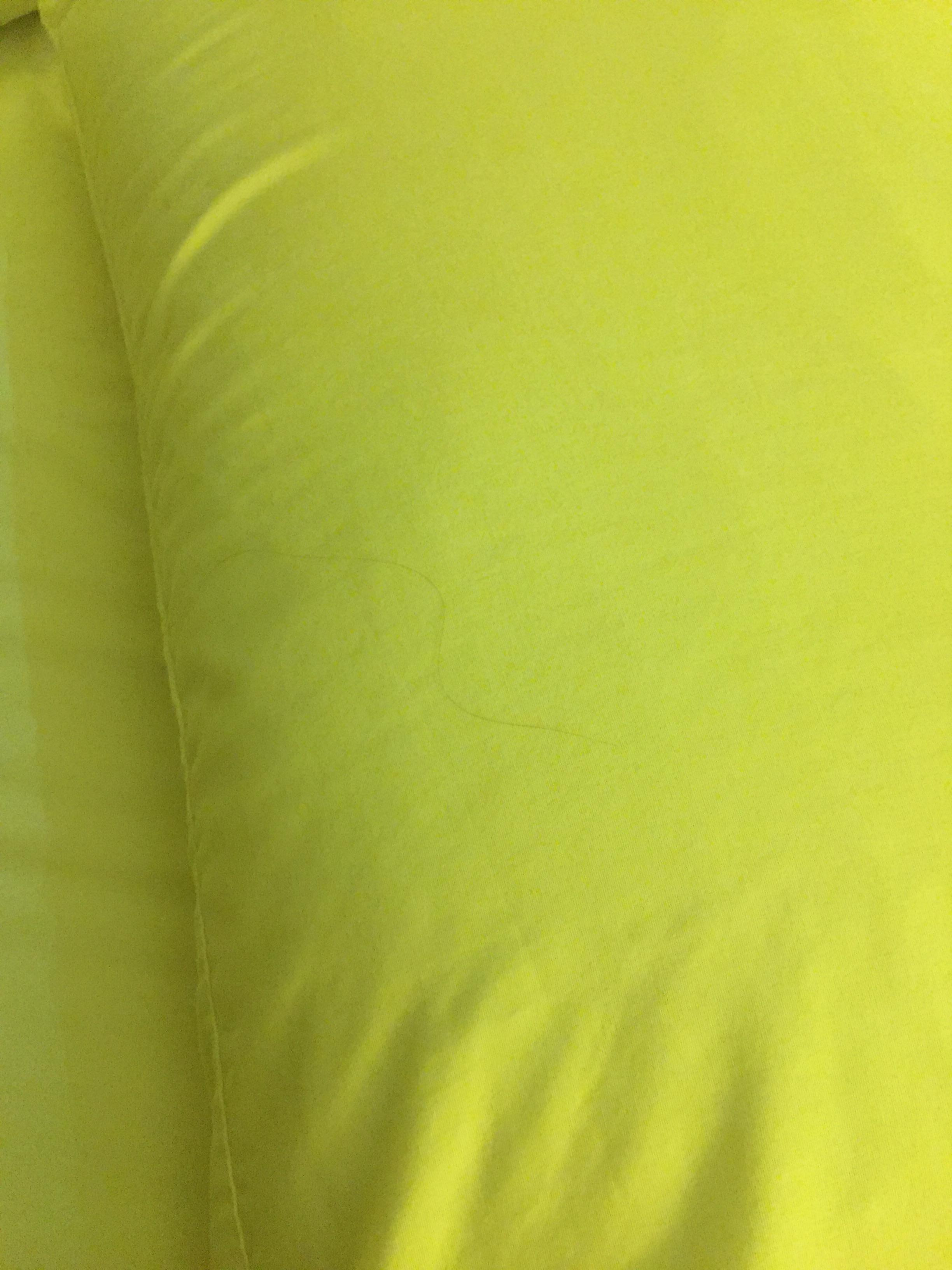 Stains on pillows