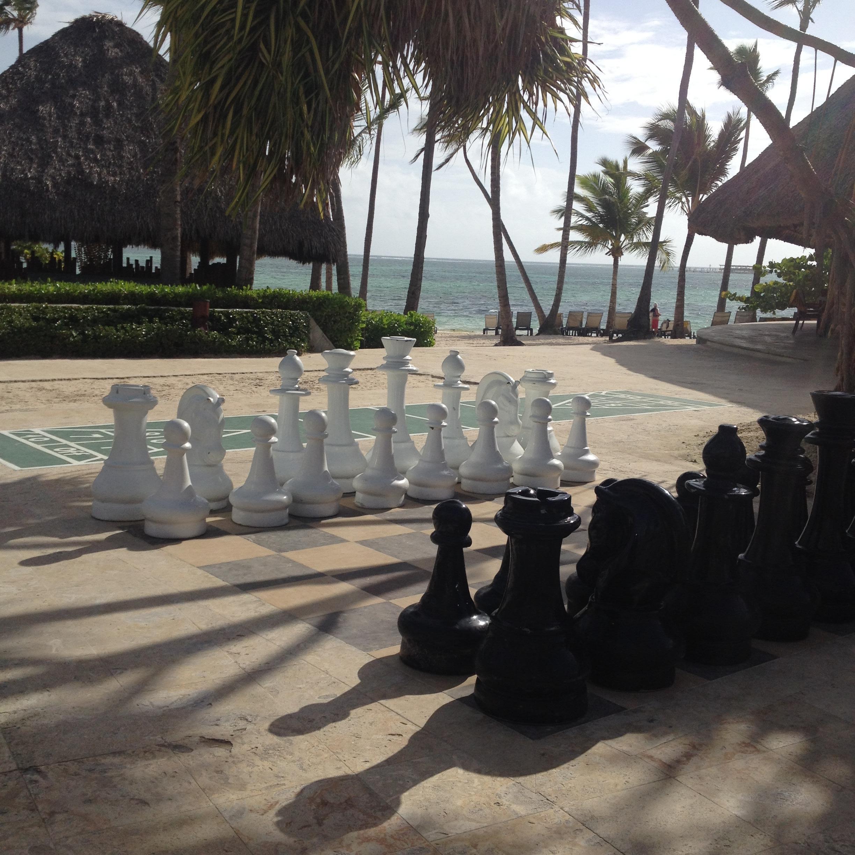 Beach side games