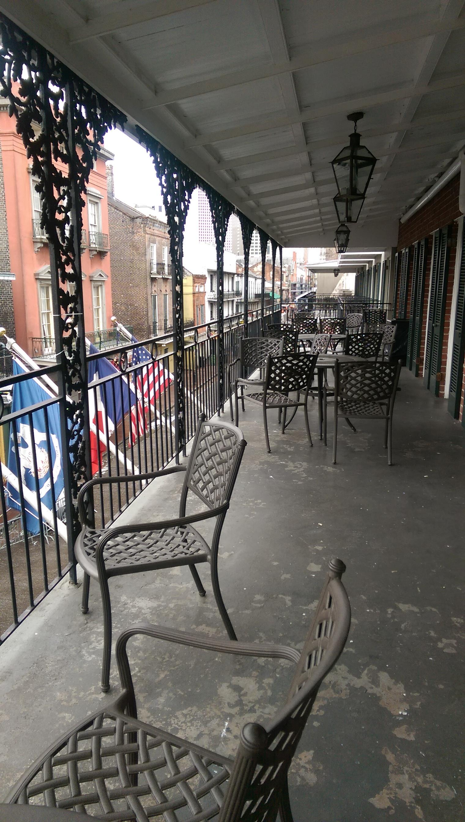 Bourbon St_Our Balcony