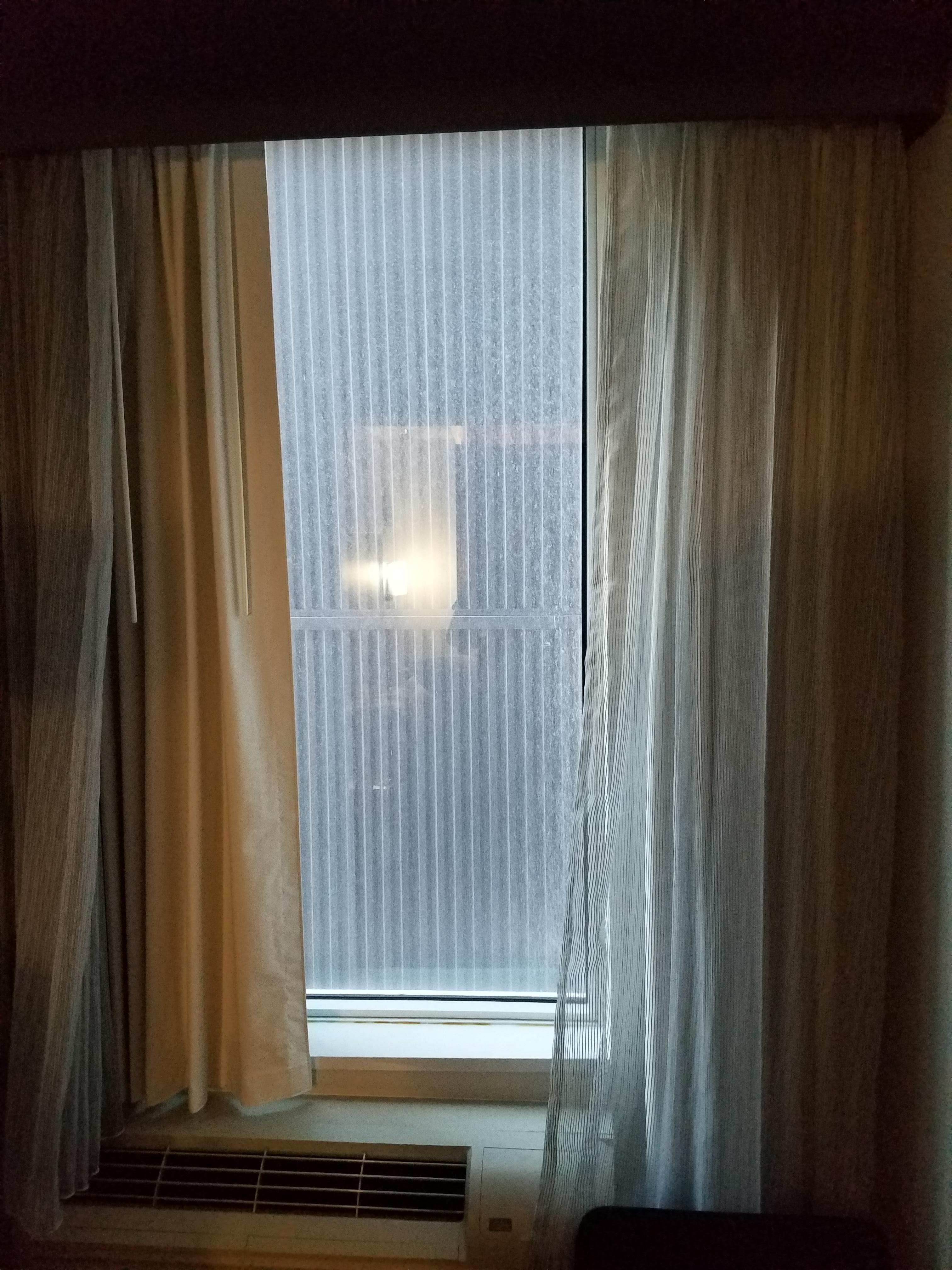 View from our room (522).  :(