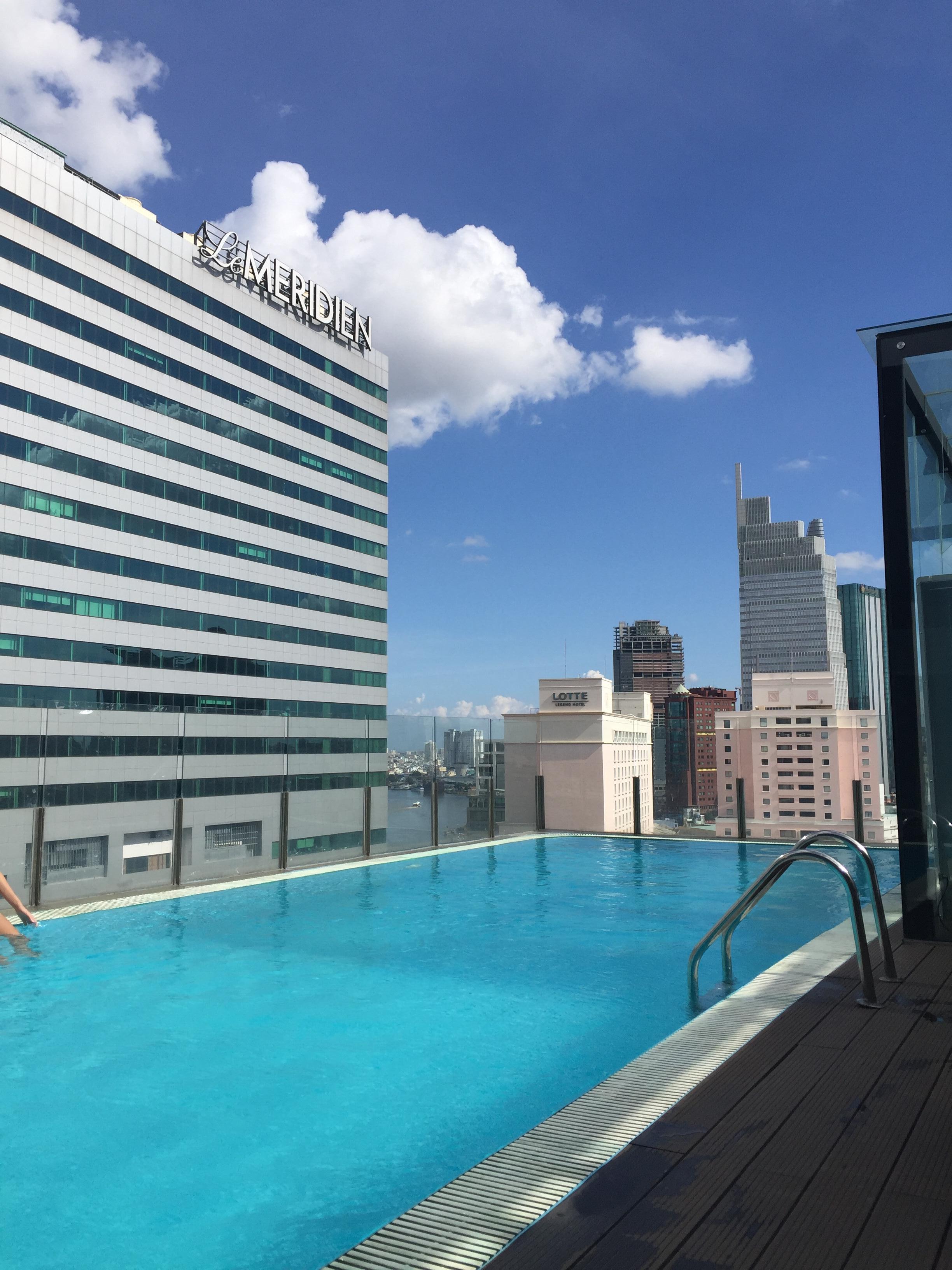 Rooftop pool okay