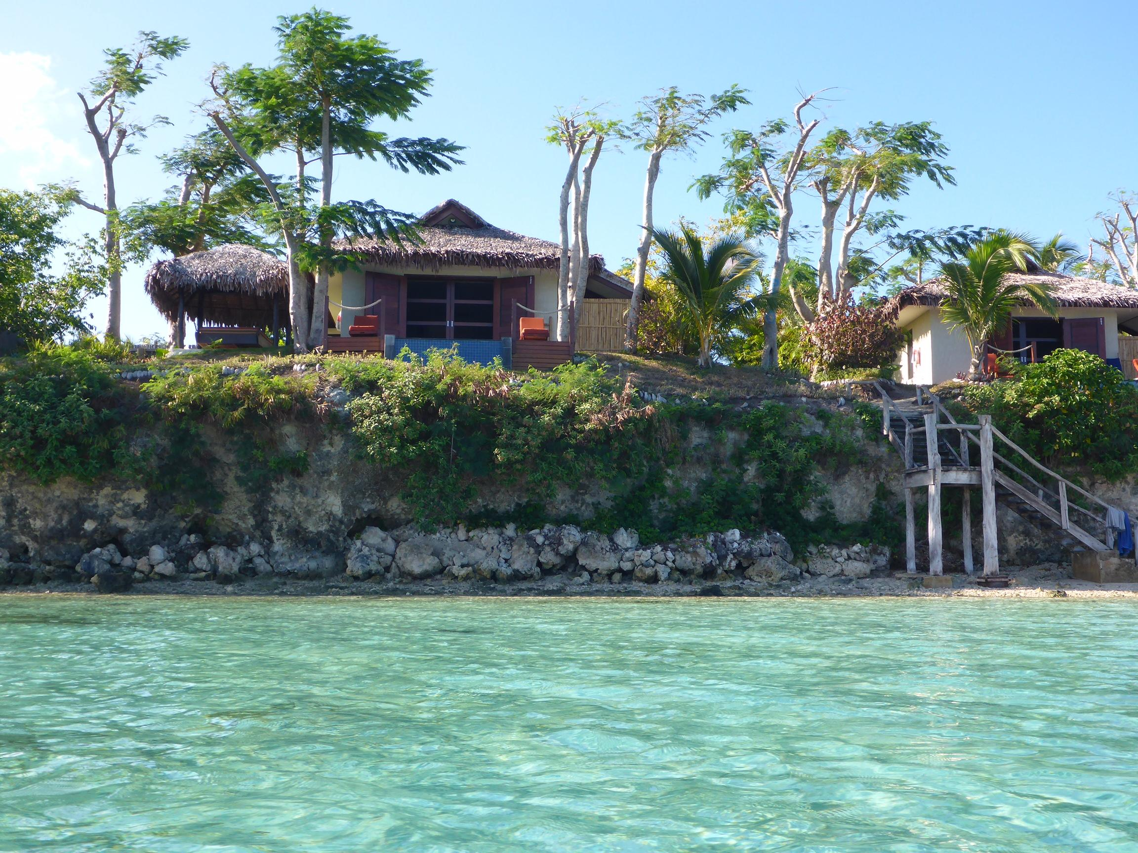 Villa from the sea