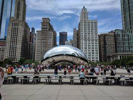 The Bean! close walk from hotel