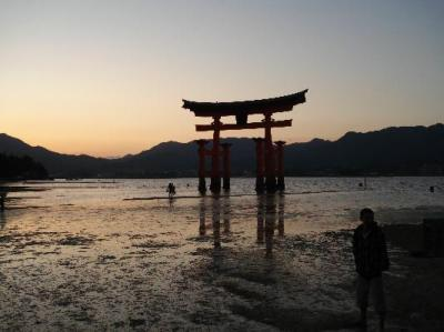 The Otori gate off Miyajima island