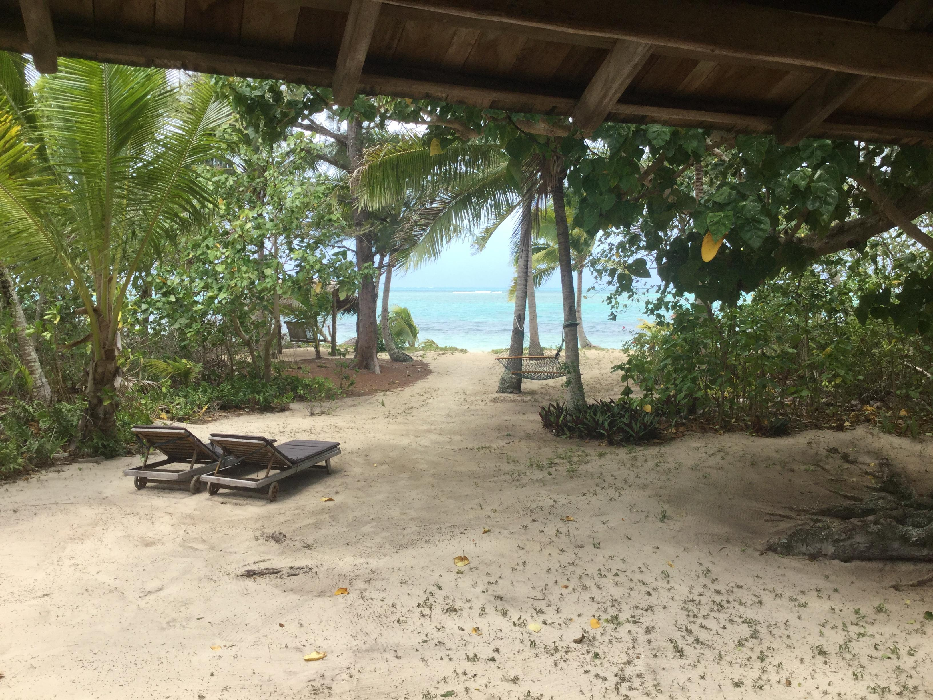 View from our Fale
