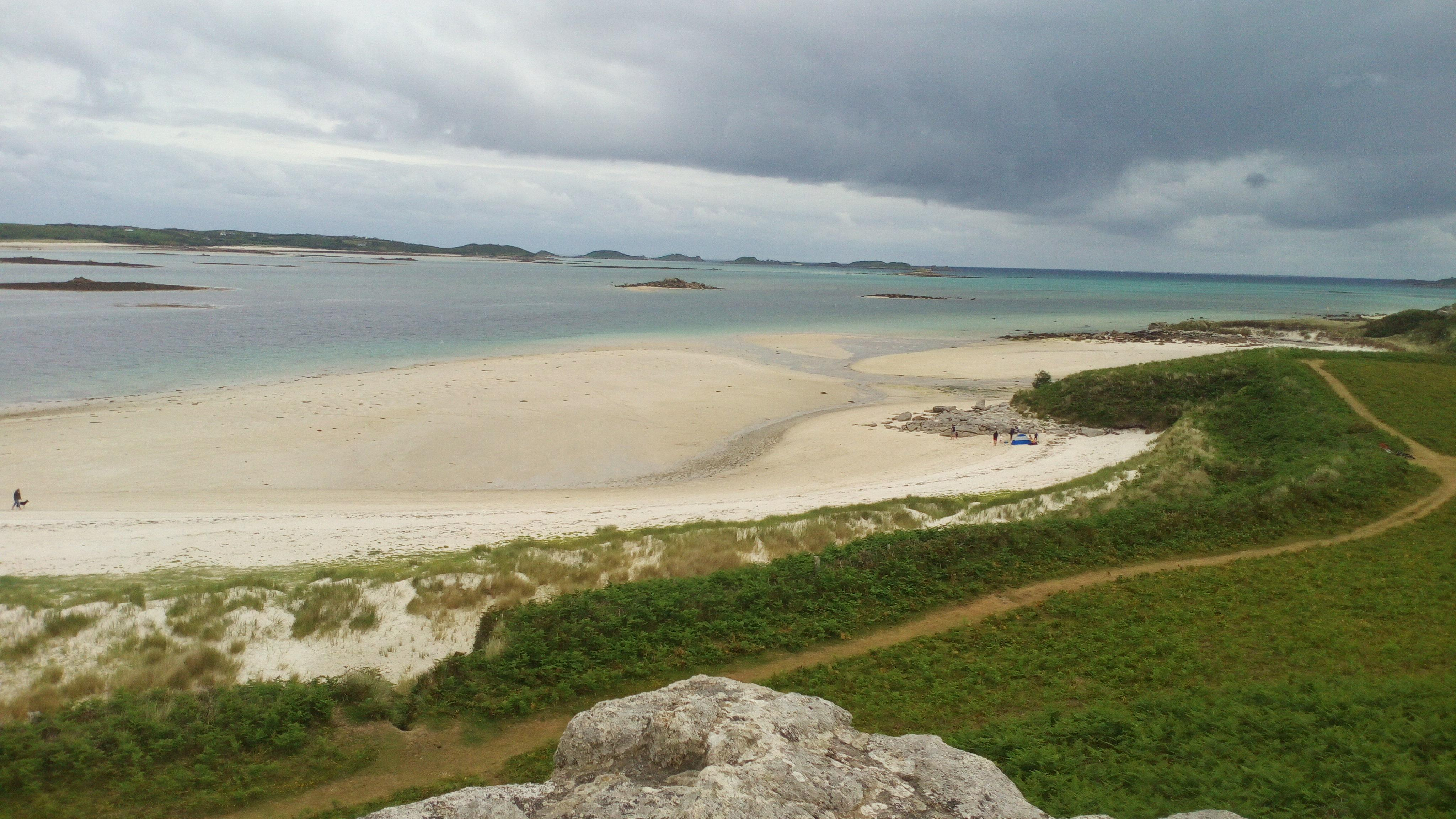 A Tresco beach