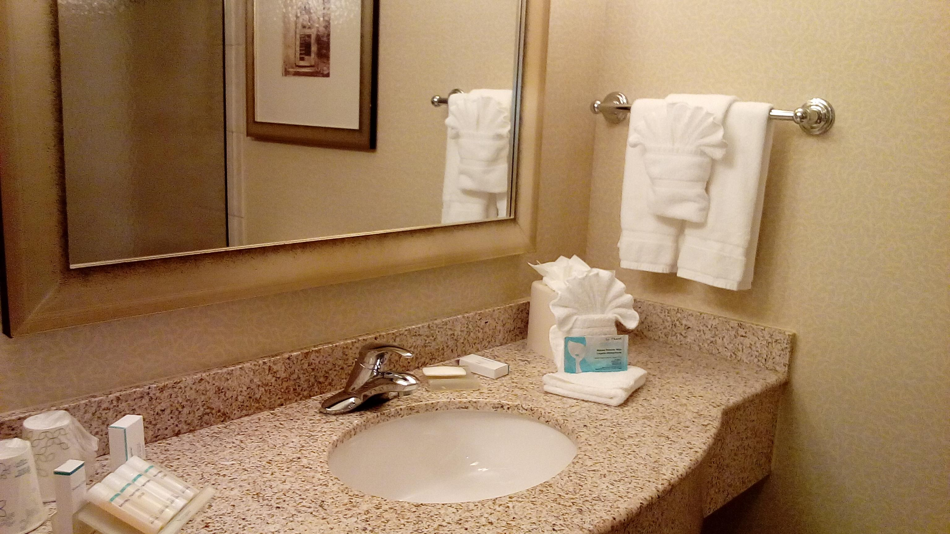 pros clean fresh tastefully decorated room with refrigerator and microwave friendly staff not far from mia - Hilton Garden Inn Miami Airport West