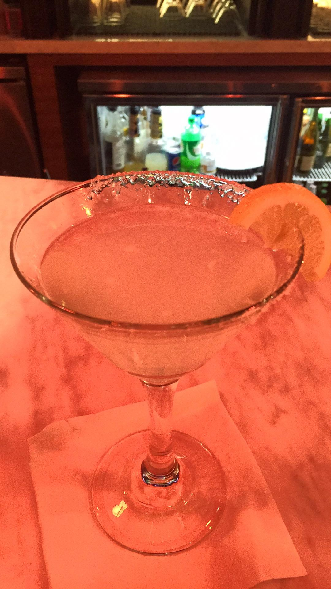 Beautiful Cosmo during Happy Hour (5-7)