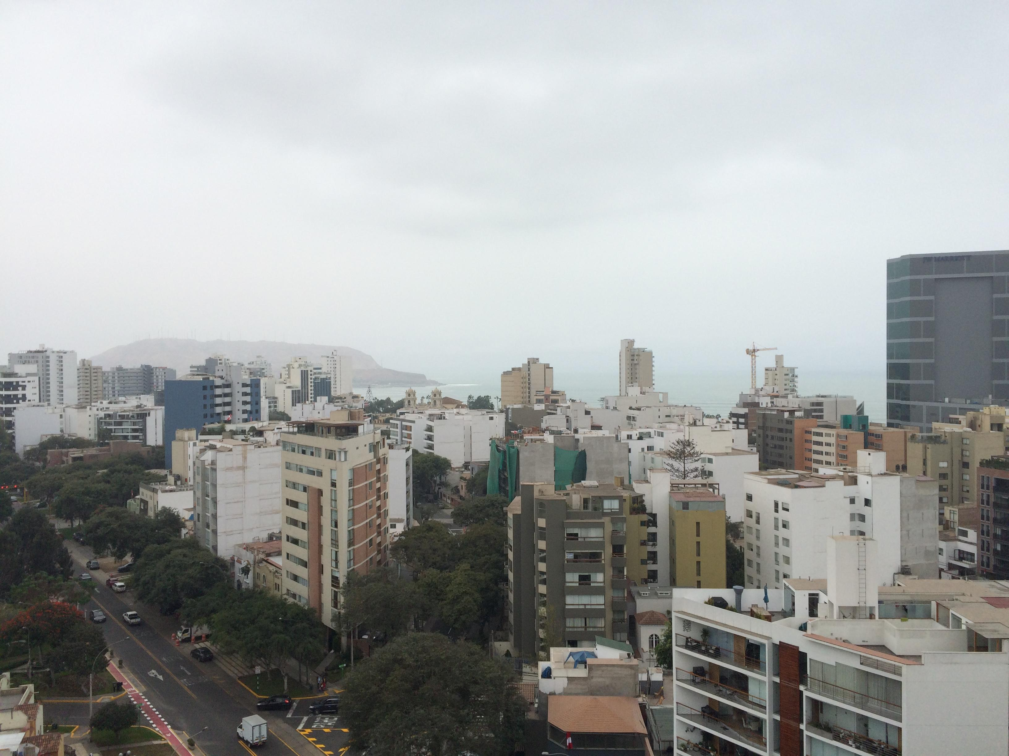 View from top terrace