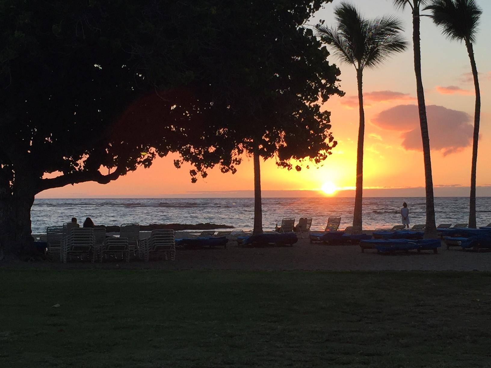 Beautiful Sunsets on the Big Island