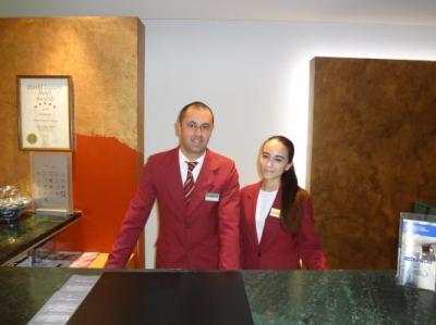 Joao Pedron and Joana Great staff !!!