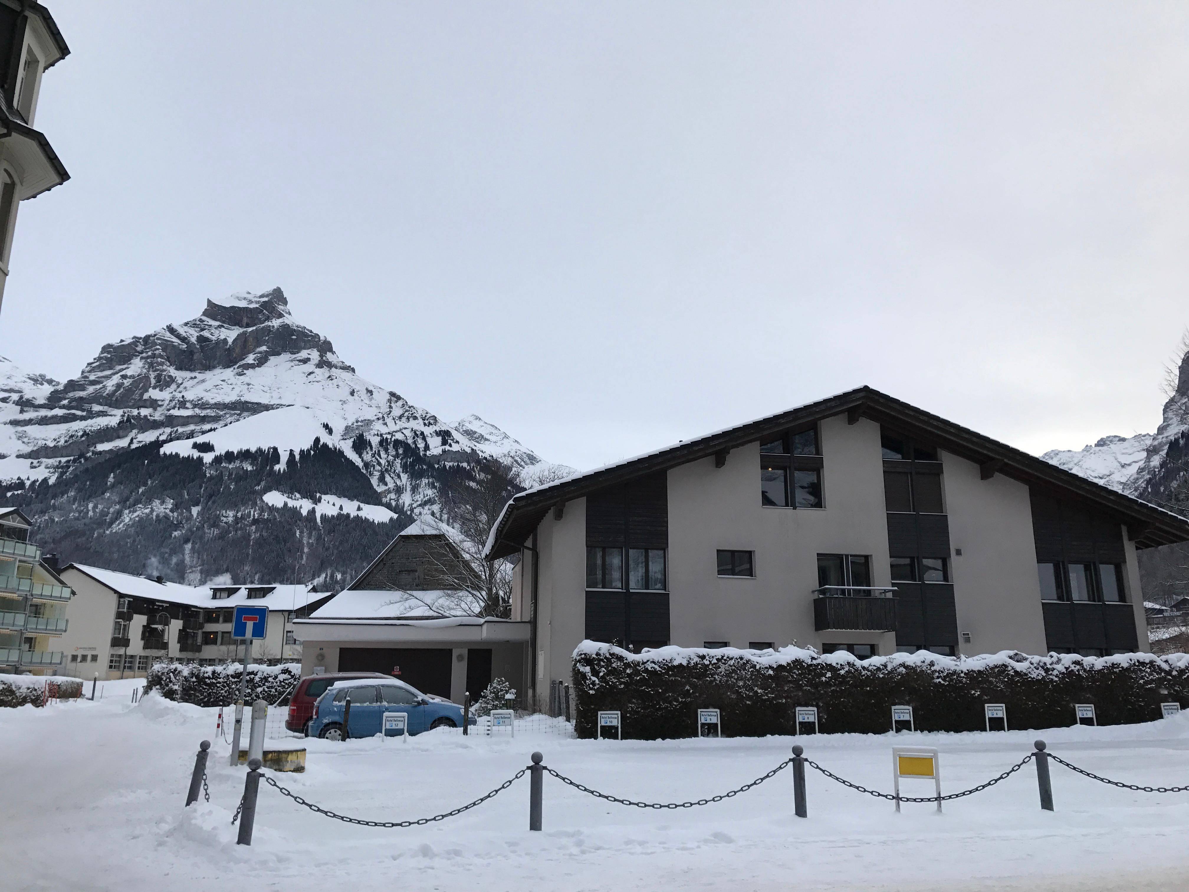 View from front of the hotel