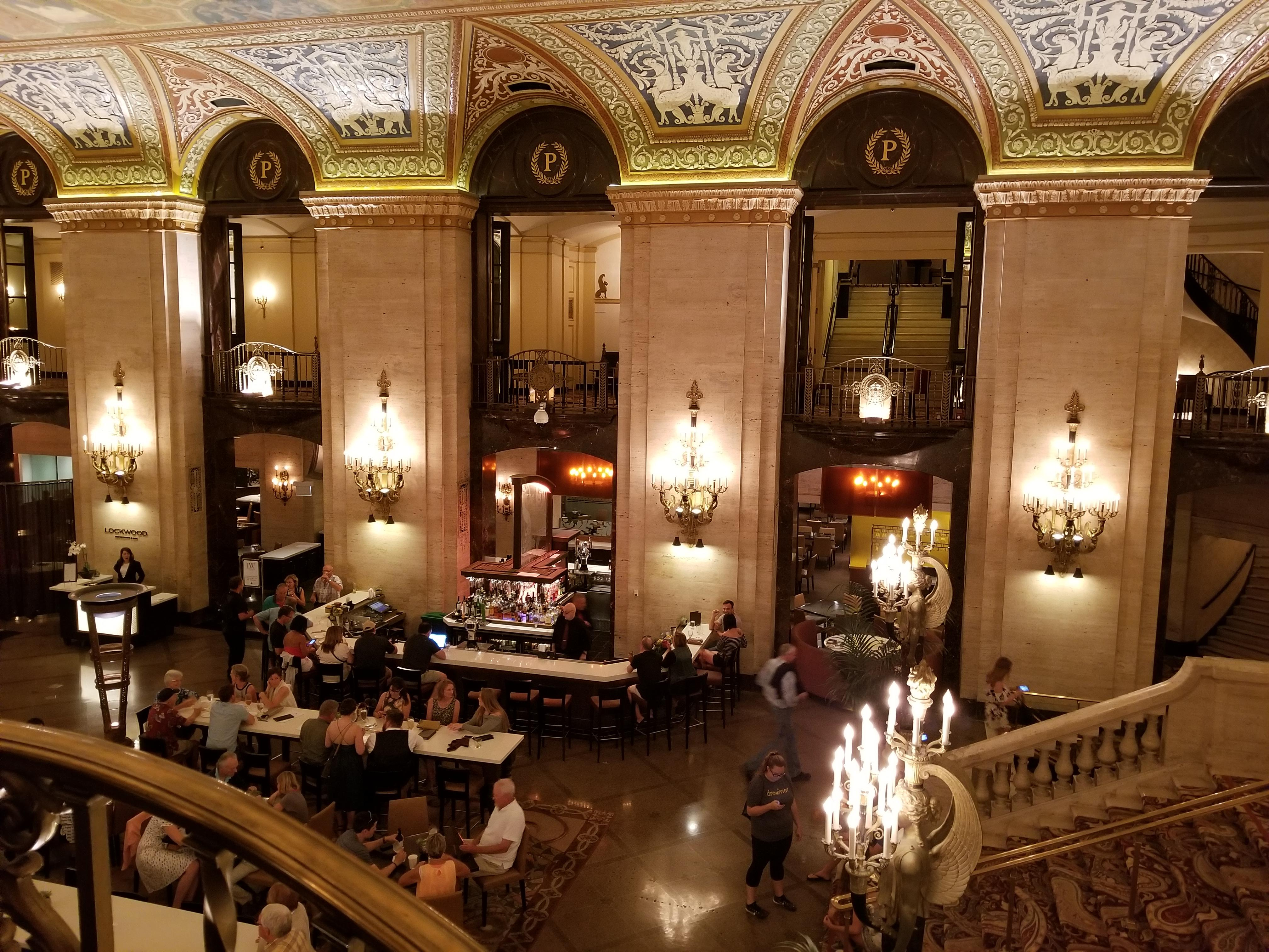 Hotel Lobby and Lockwood Bar