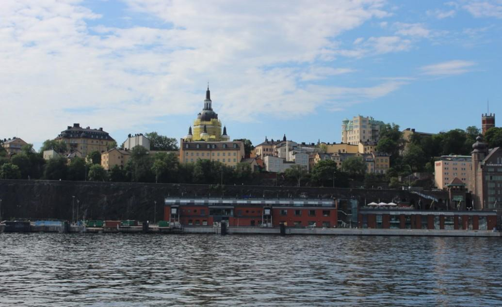 Stockholm - Slusen with Gondolen July 22