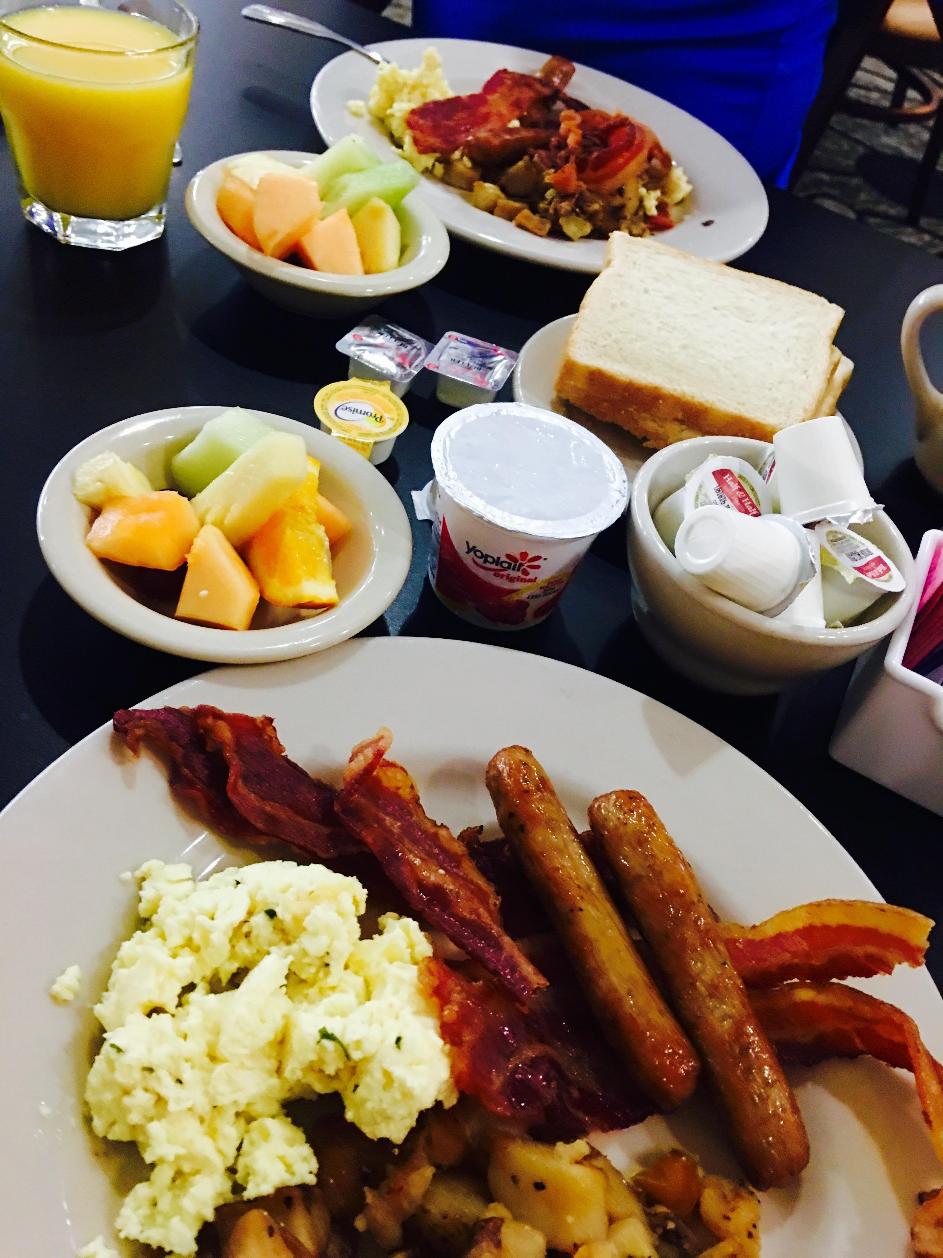 Great breakfast 💕