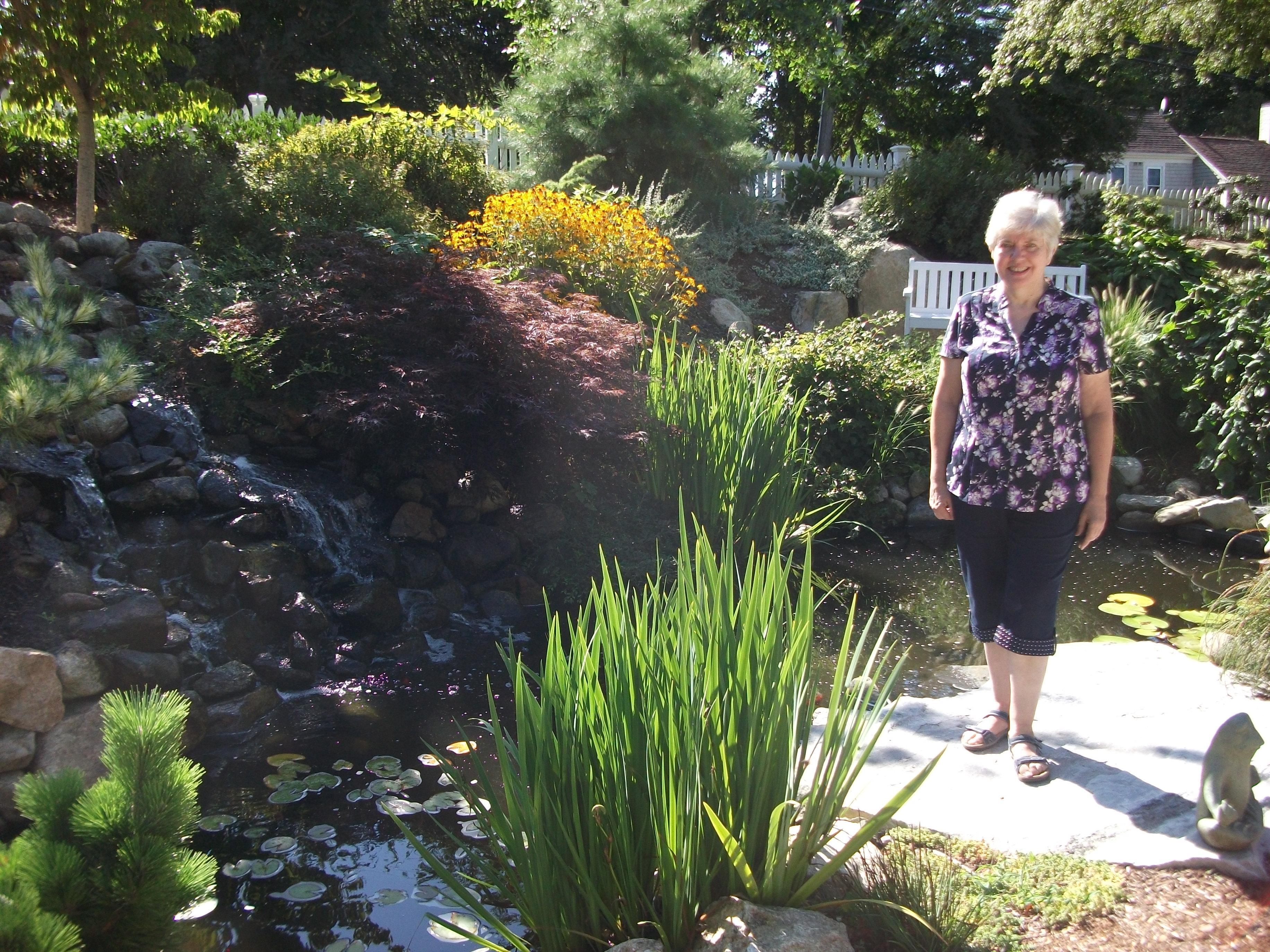 Long Dell garden