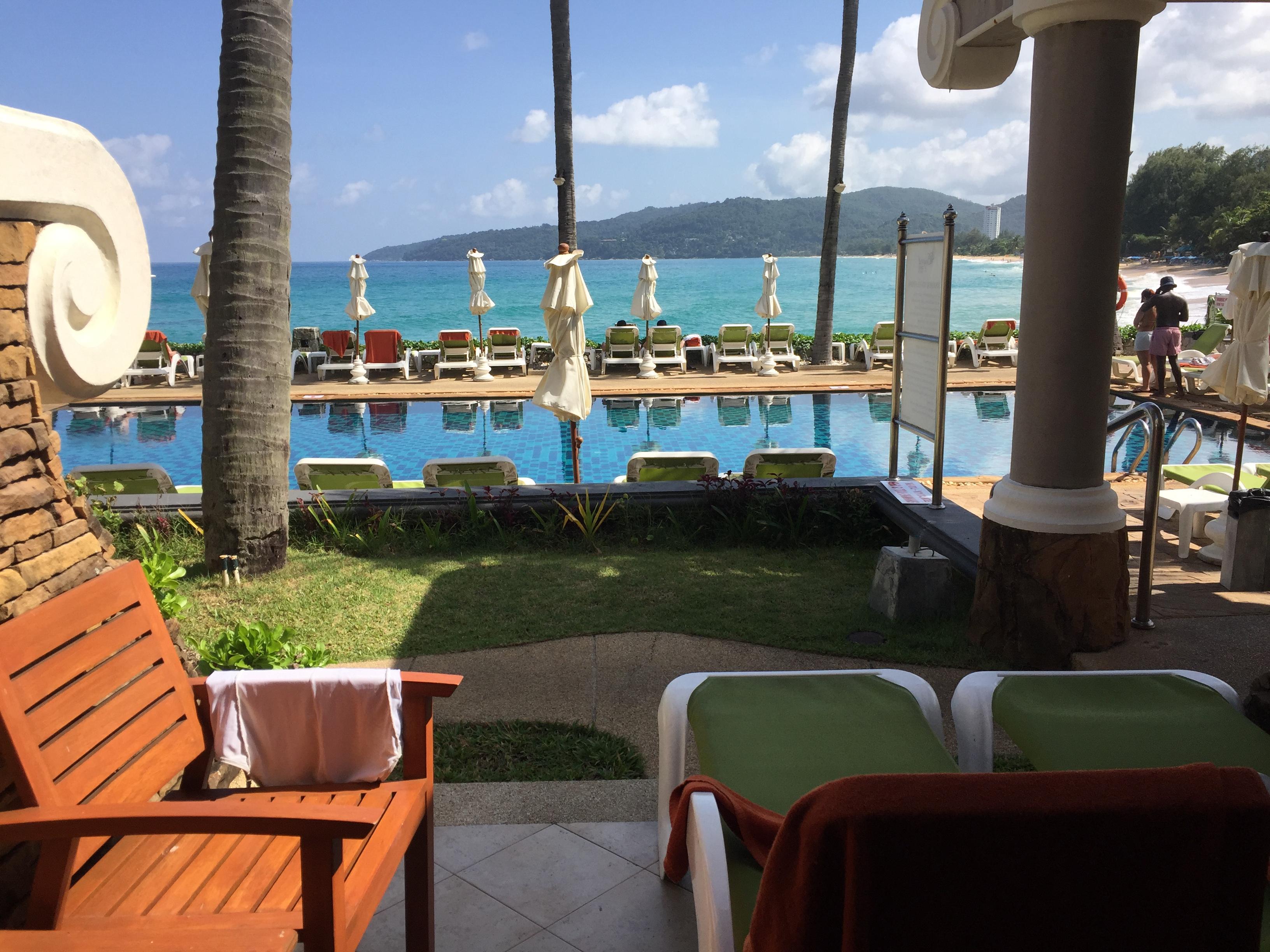Room 120 ground floor terrace