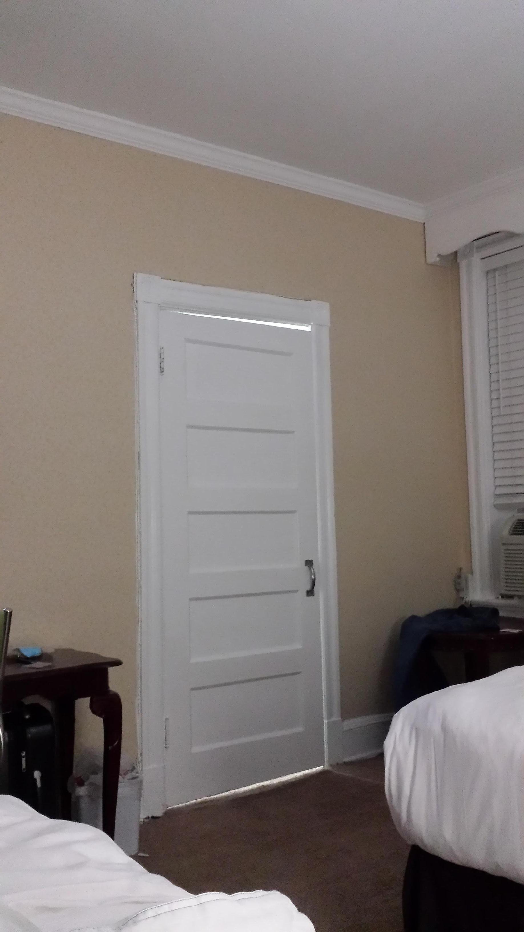Painting, light fixture