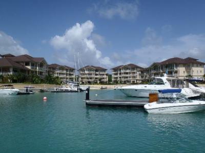 marina side of resort