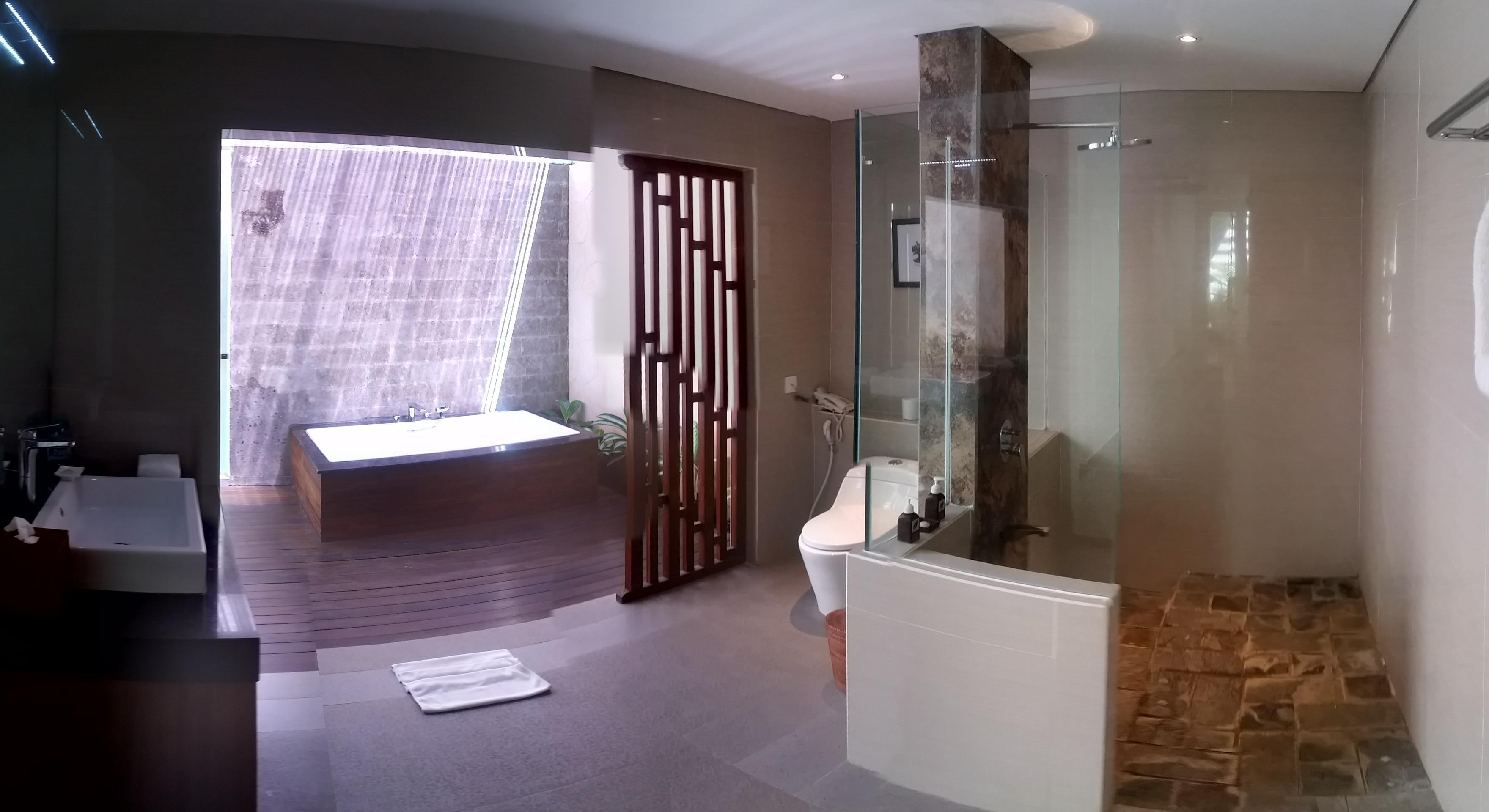 Villa privé depuis la chambre
