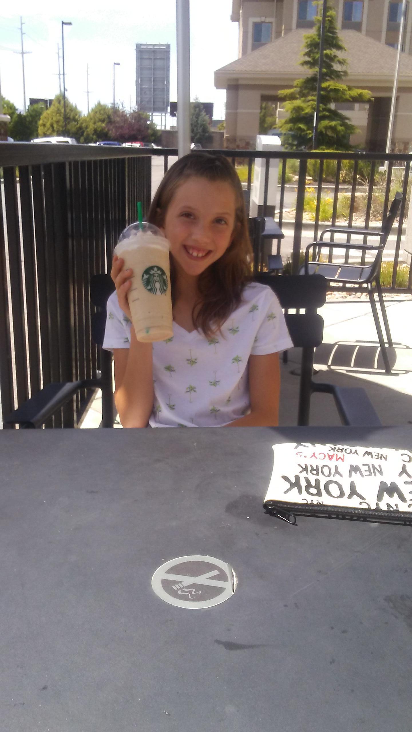 Got to Love Starbucks and their Chei tea tea