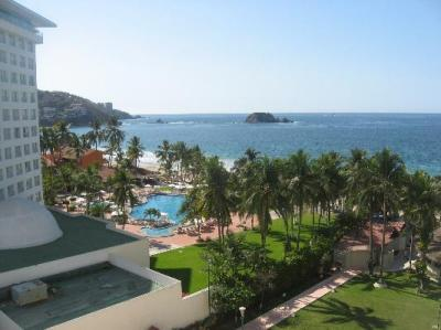 Oceanview from room balcony