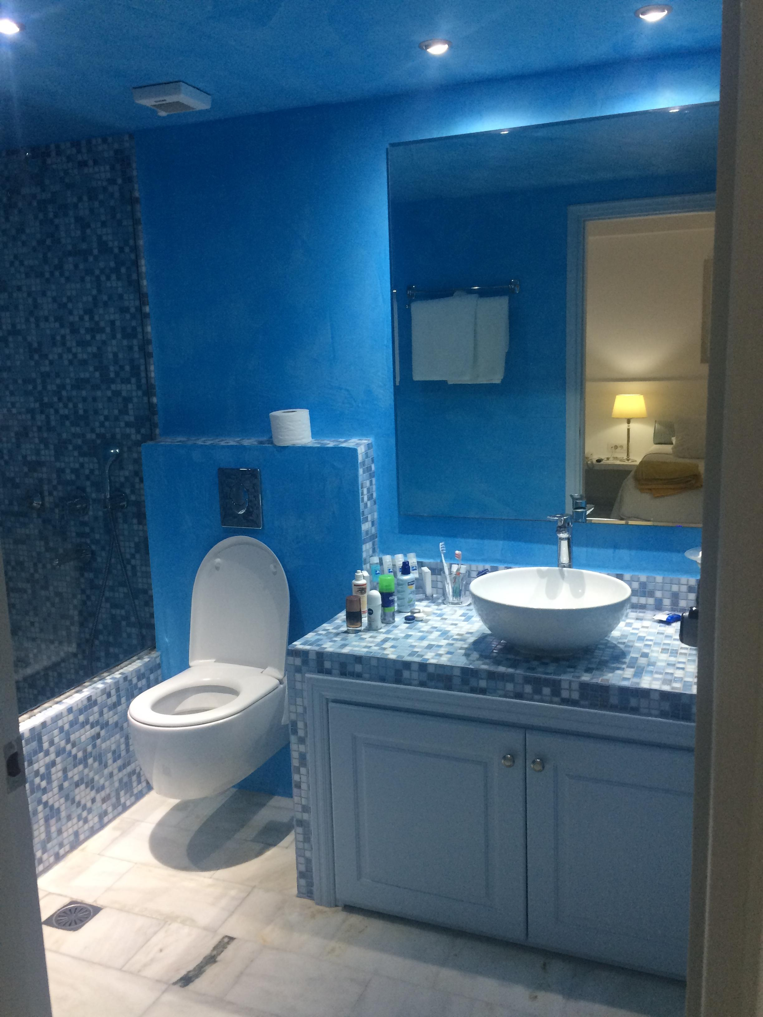 clean and bright bathroom