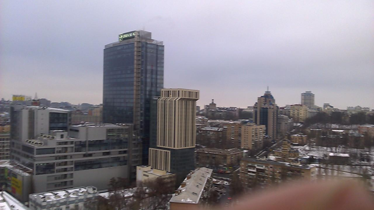 view from 18 th floor of hotel