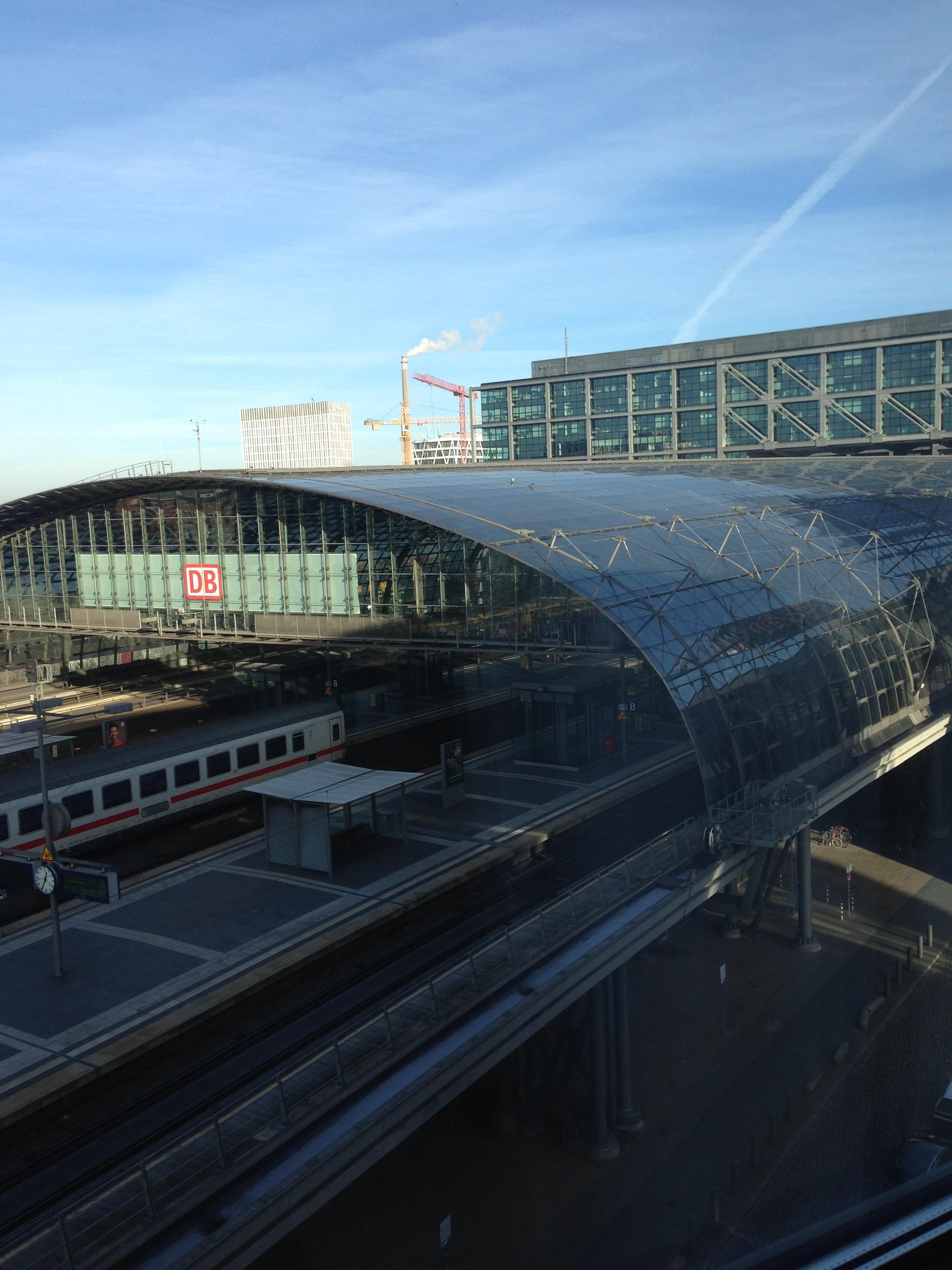 Vue sur la gare mais aucune nuisance sonore