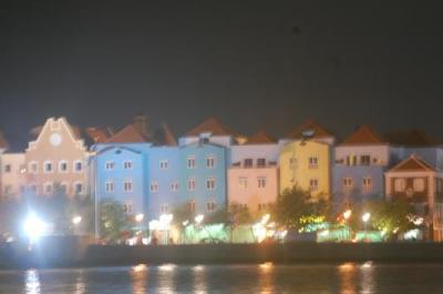 After sunset in willemstad