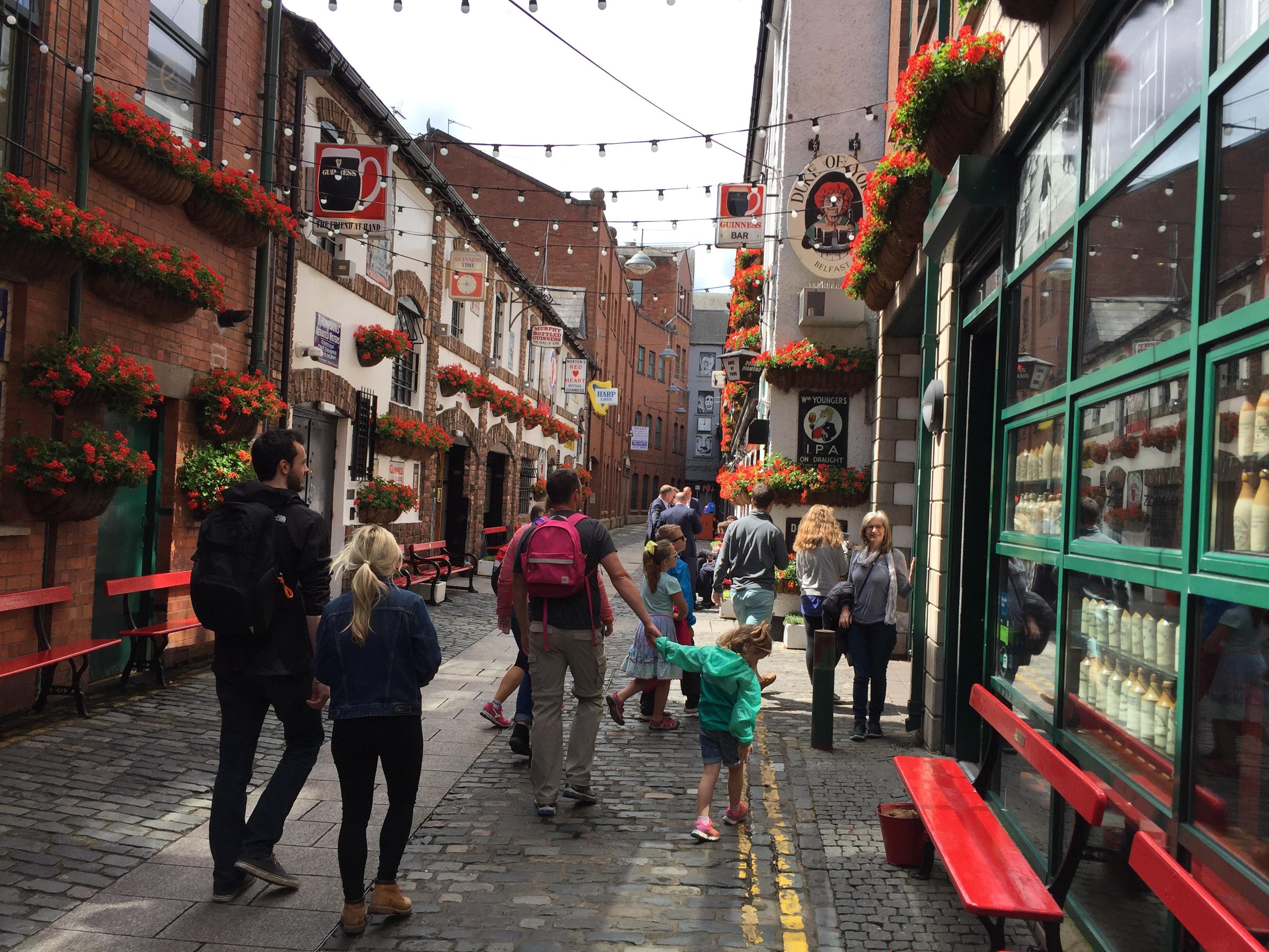 A Charming Street in Belfast